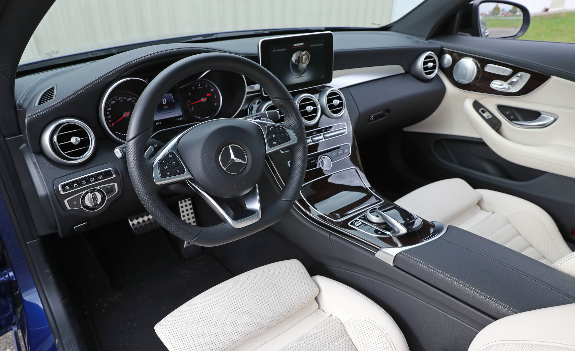 2017 Mercedes Benz C300 4MATIC Coupe Interior Cockpit And Dash (View 28 of 44)