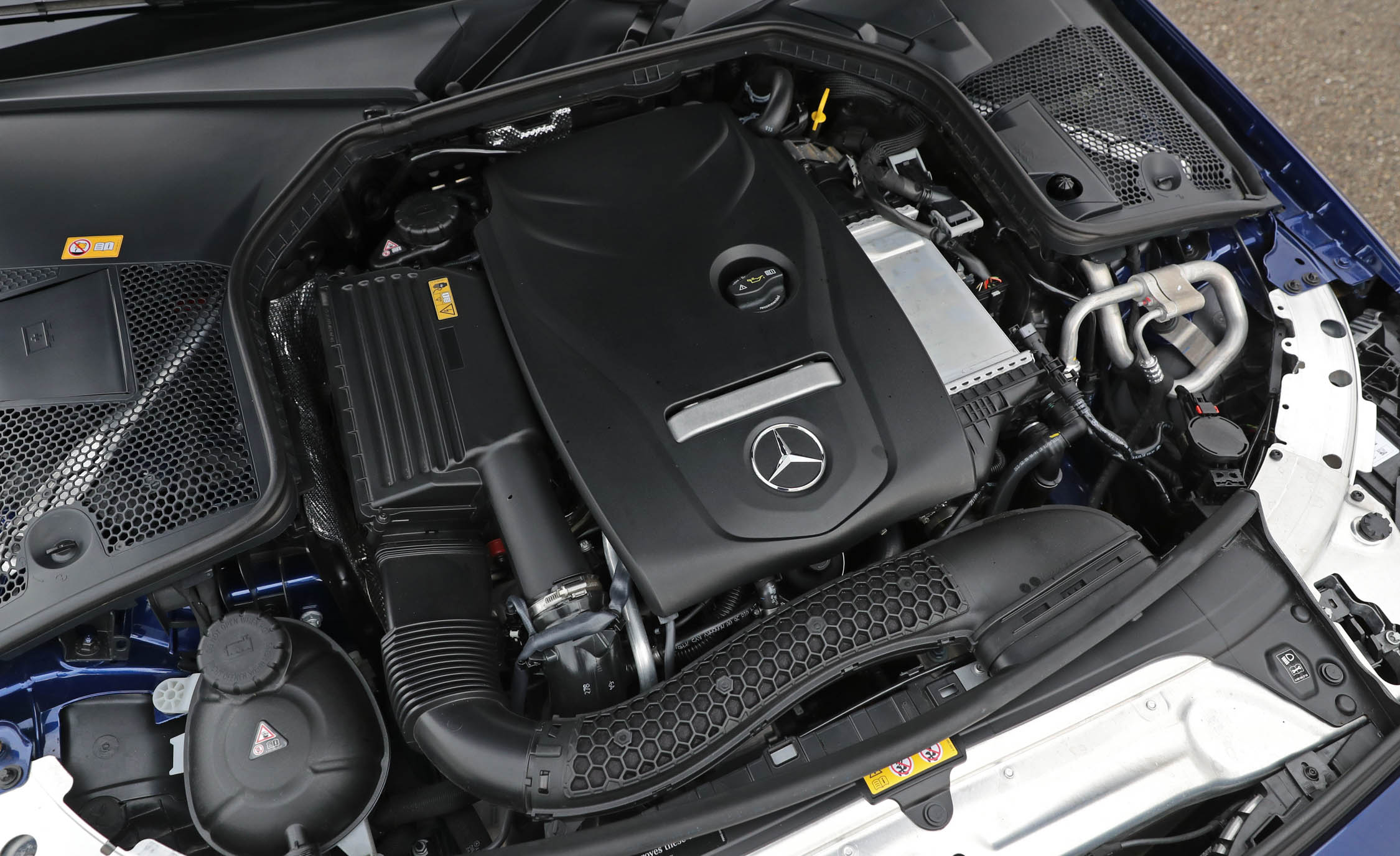 2017 Mercedes Benz C300 4MATIC Coupe View Engine (View 6 of 44)