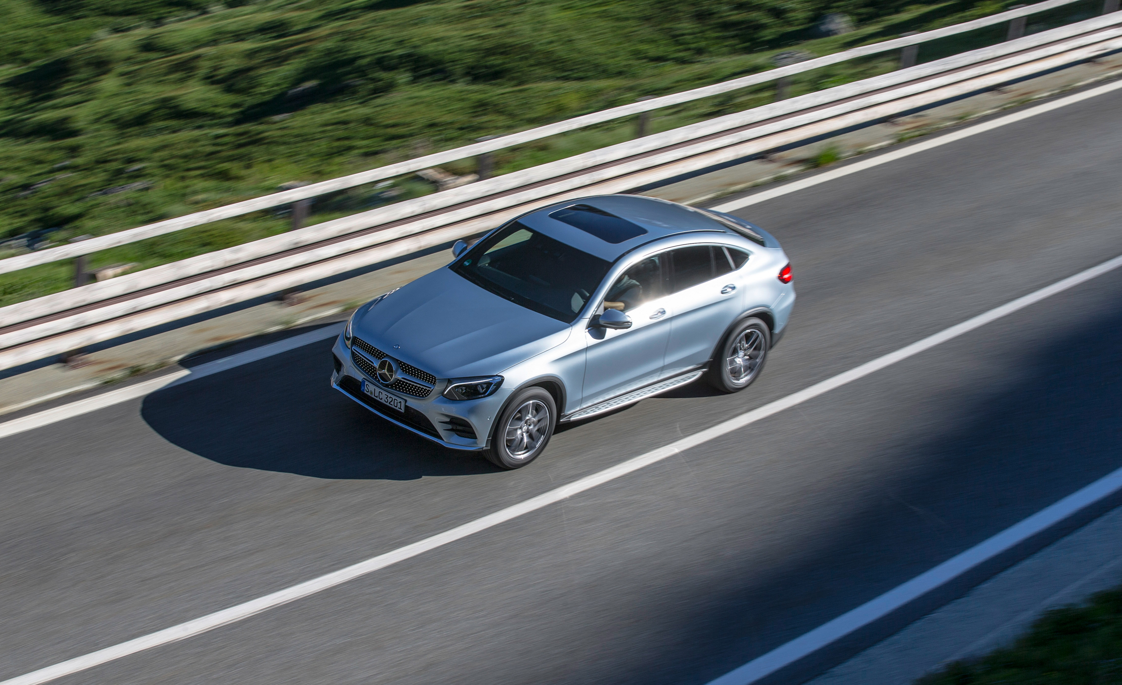 2017 Mercedes Benz GLC300 4MATIC Coupe (Photo 6 of 19)
