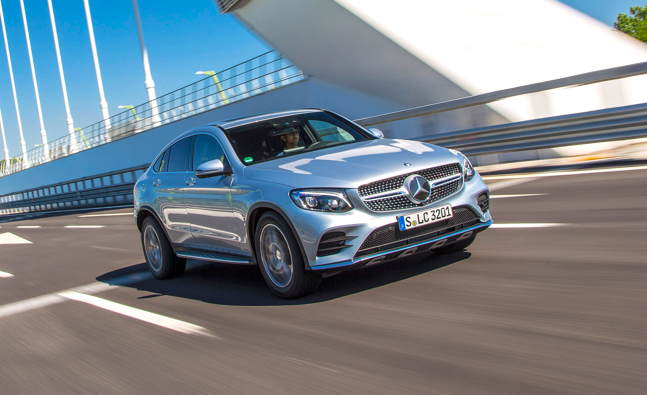2017 Mercedes Benz GLC300 4MATIC Coupe (Photo 1 of 19)