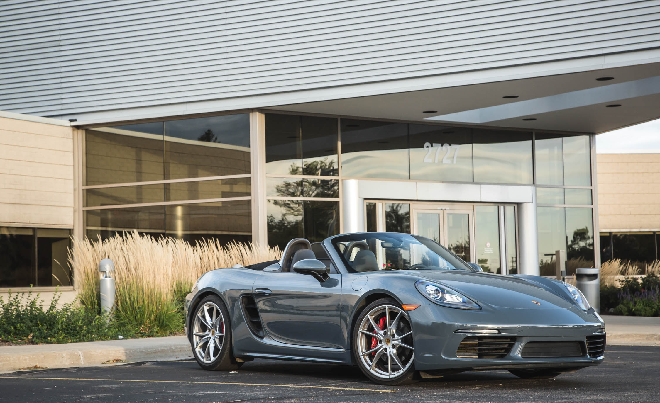 2017 Porsche 718 Boxster S Exterior Gray Metallic (View 22 of 71)