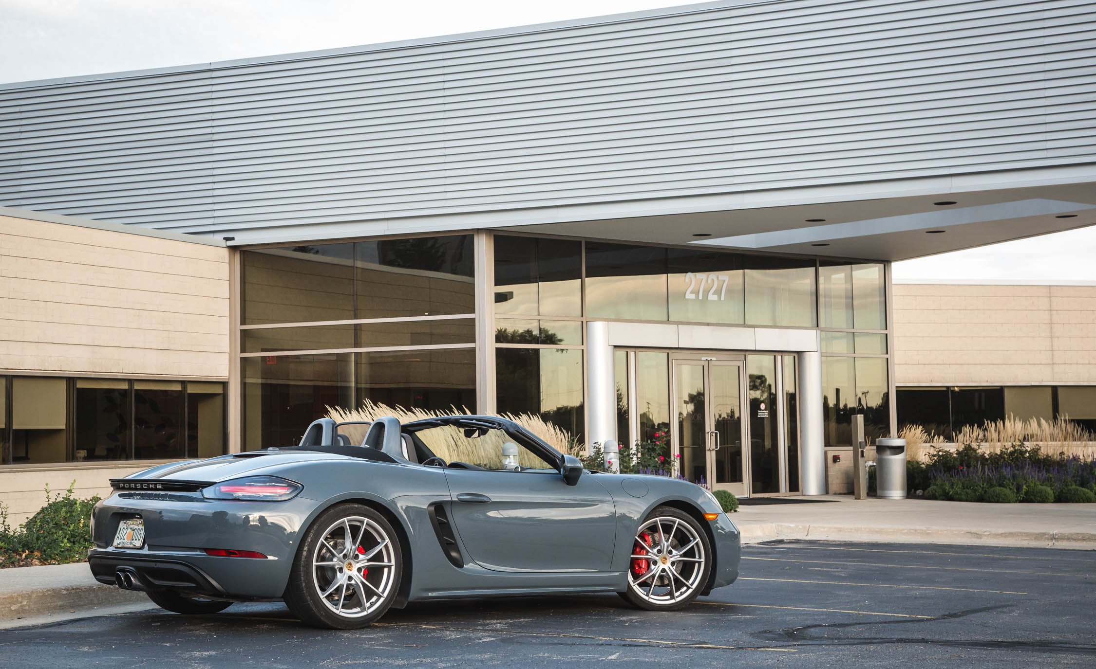 2017 Porsche 718 Boxster S Exterior Side (View 19 of 71)