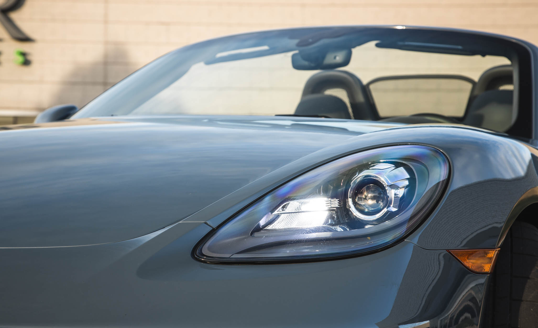 2017 Porsche 718 Boxster S Exterior View Headlight (View 27 of 71)
