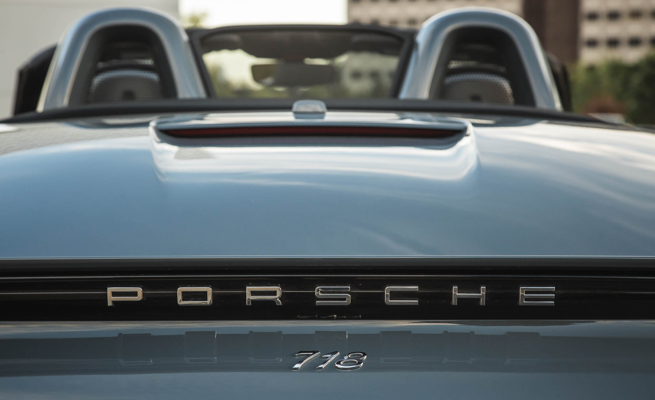 2017 Porsche 718 Boxster S Exterior View Rear Badge (View 28 of 71)