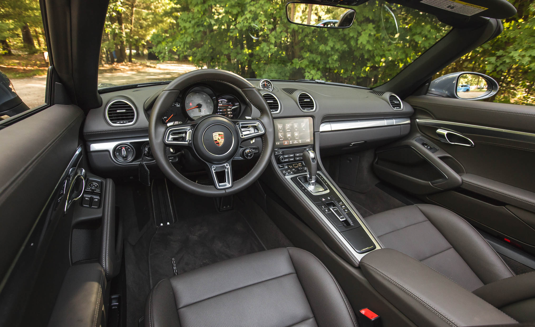 2017 Porsche 718 Boxster S Interior Cockpit And Dash (View 31 of 71)