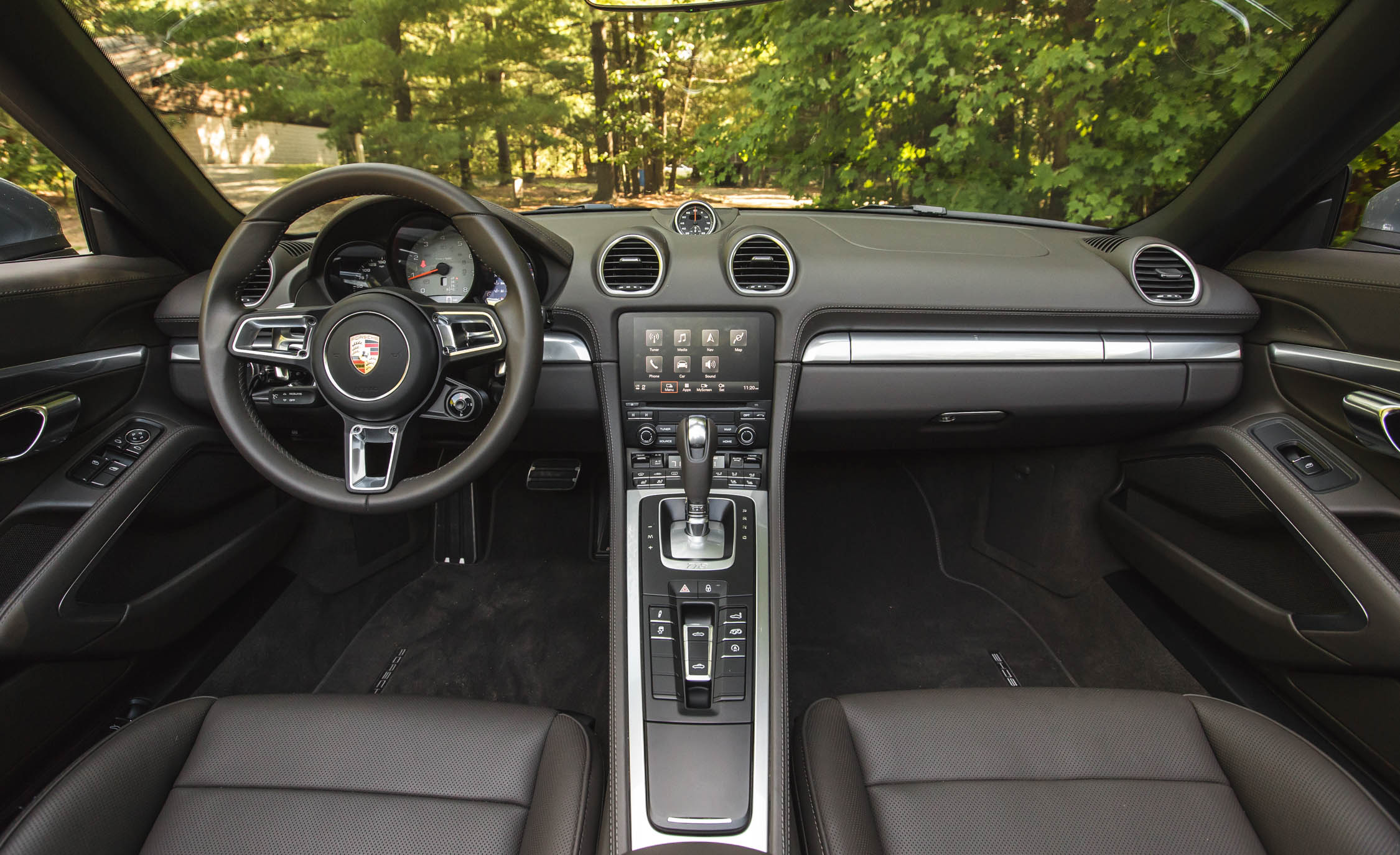 2017 Porsche 718 Boxster S Interior (View 34 of 71)