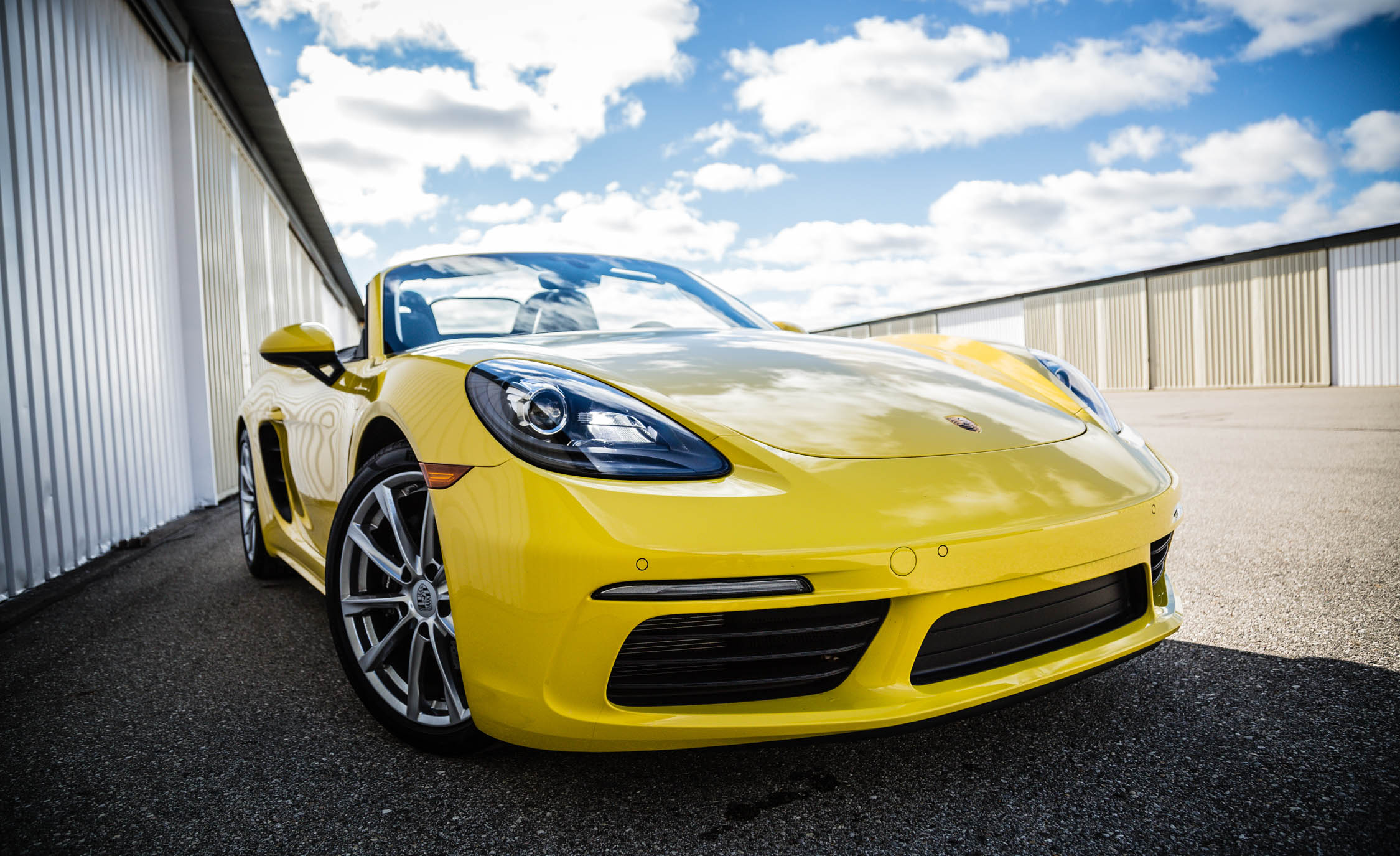 2017 Porsche 718 Boxster Exterior View Grille And Bumper (View 16 of 71)