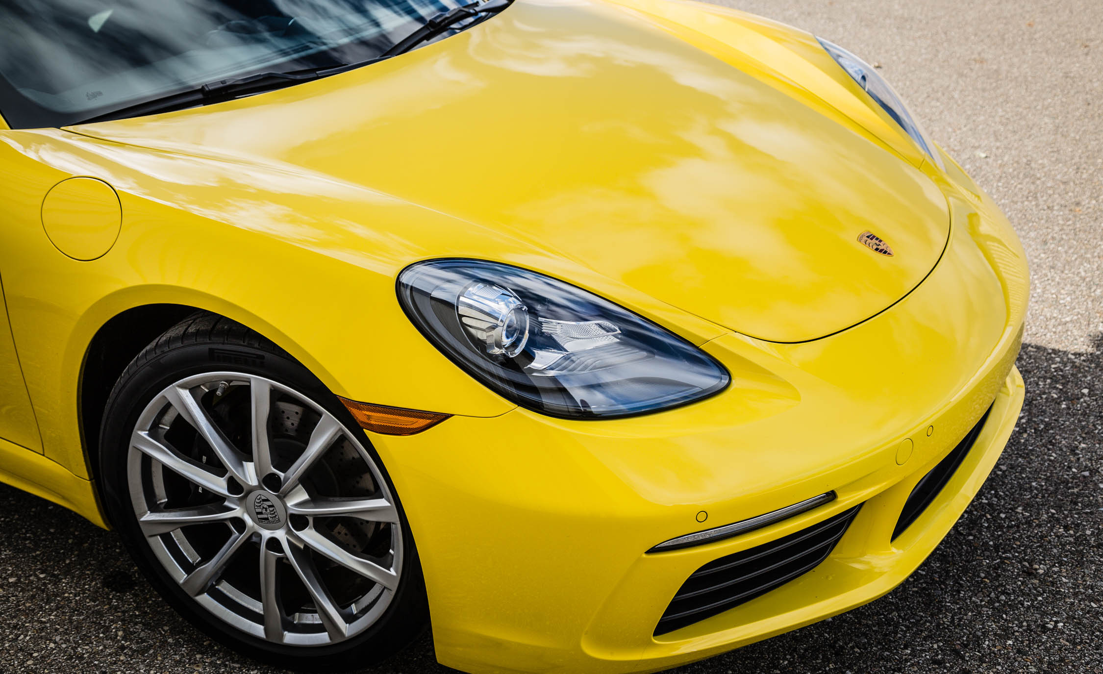 2017 Porsche 718 Boxster Exterior View Headlight And Wheel Trim (View 12 of 71)