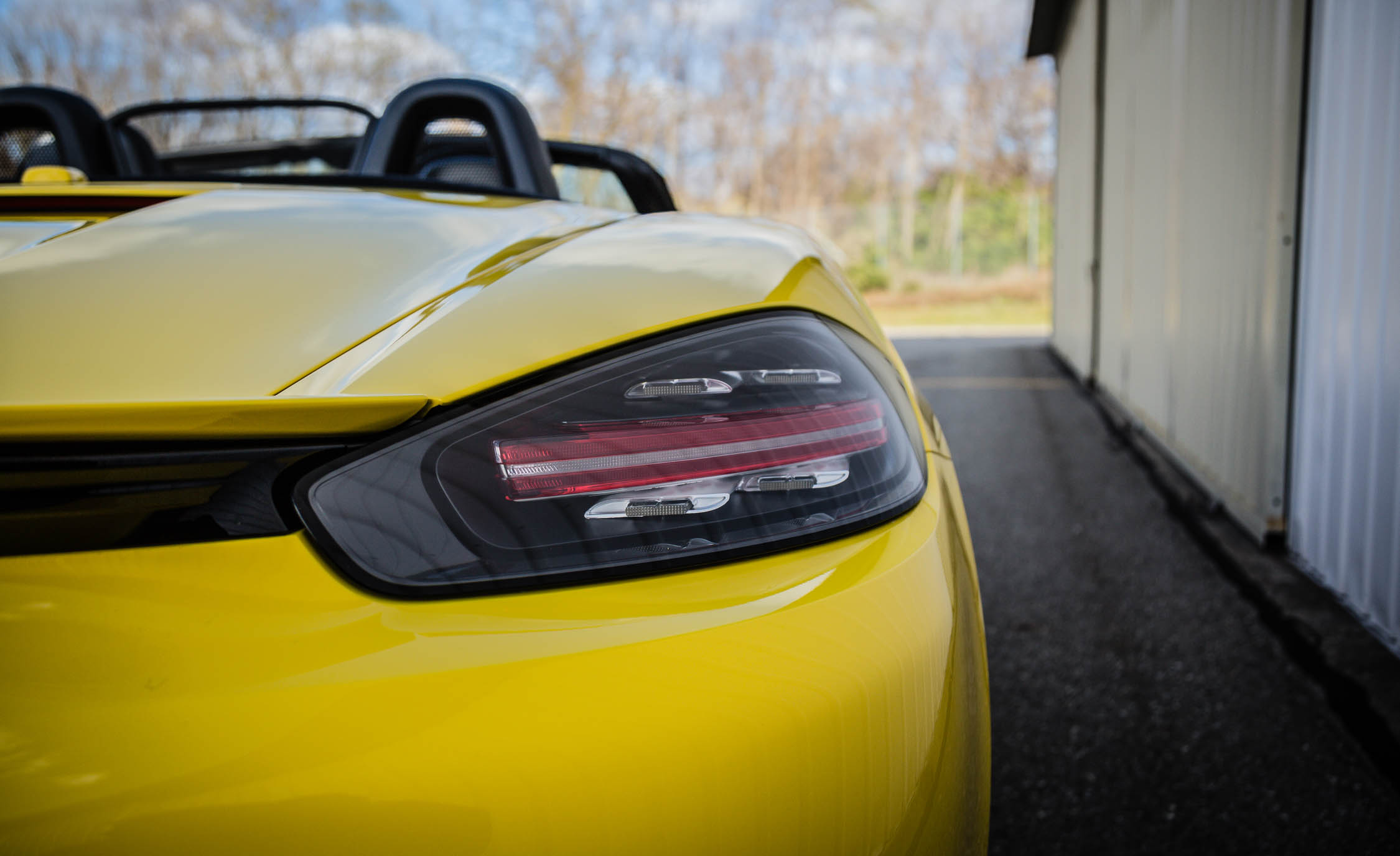 2017 Porsche 718 Boxster Exterior View Taillight (View 14 of 71)