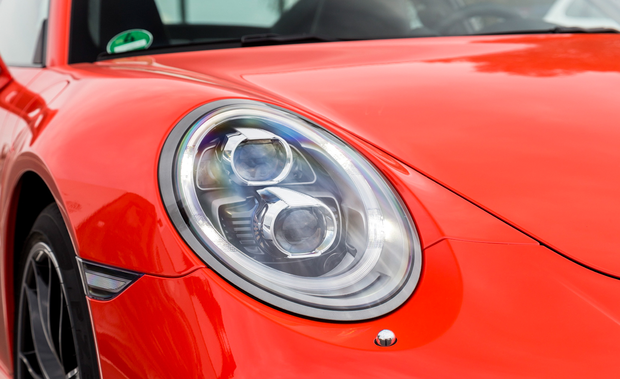 2017 Porsche 911 Turbo S Red Exterior View Headlight (Photo 16 of 58)
