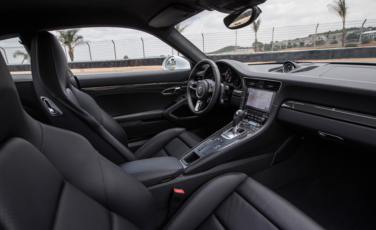 2017 Porsche 911 Turbo S White Interior Seats Cockpit (Photo 36 of 58)