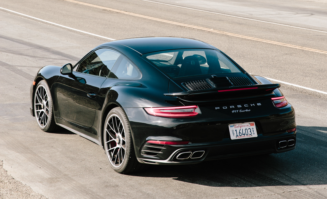 2017 Porsche 911 Turbo Exterior Rear And Side (Photo 6 of 58)