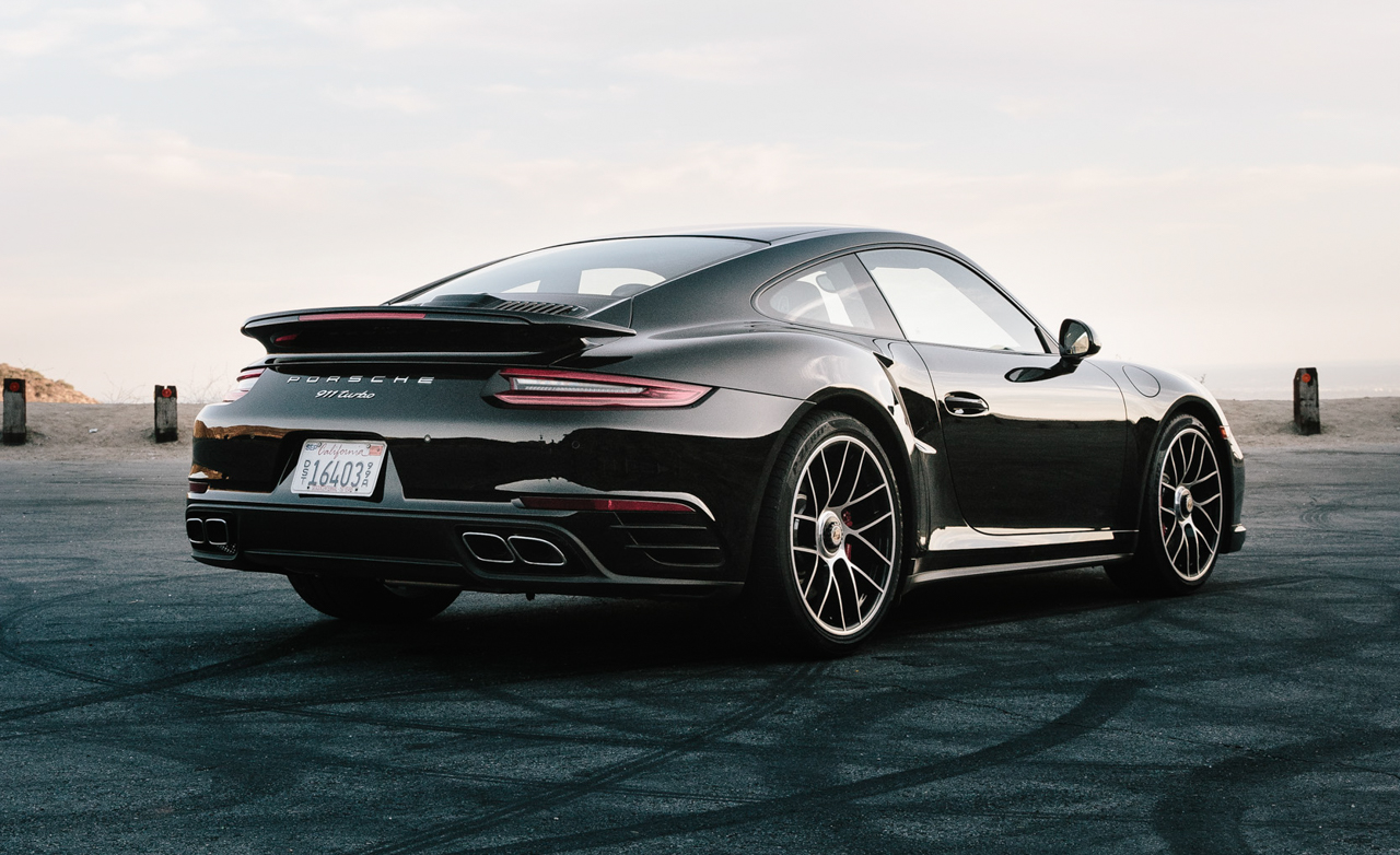 2017 Porsche 911 Turbo Exterior Side And Rear (Photo 9 of 58)