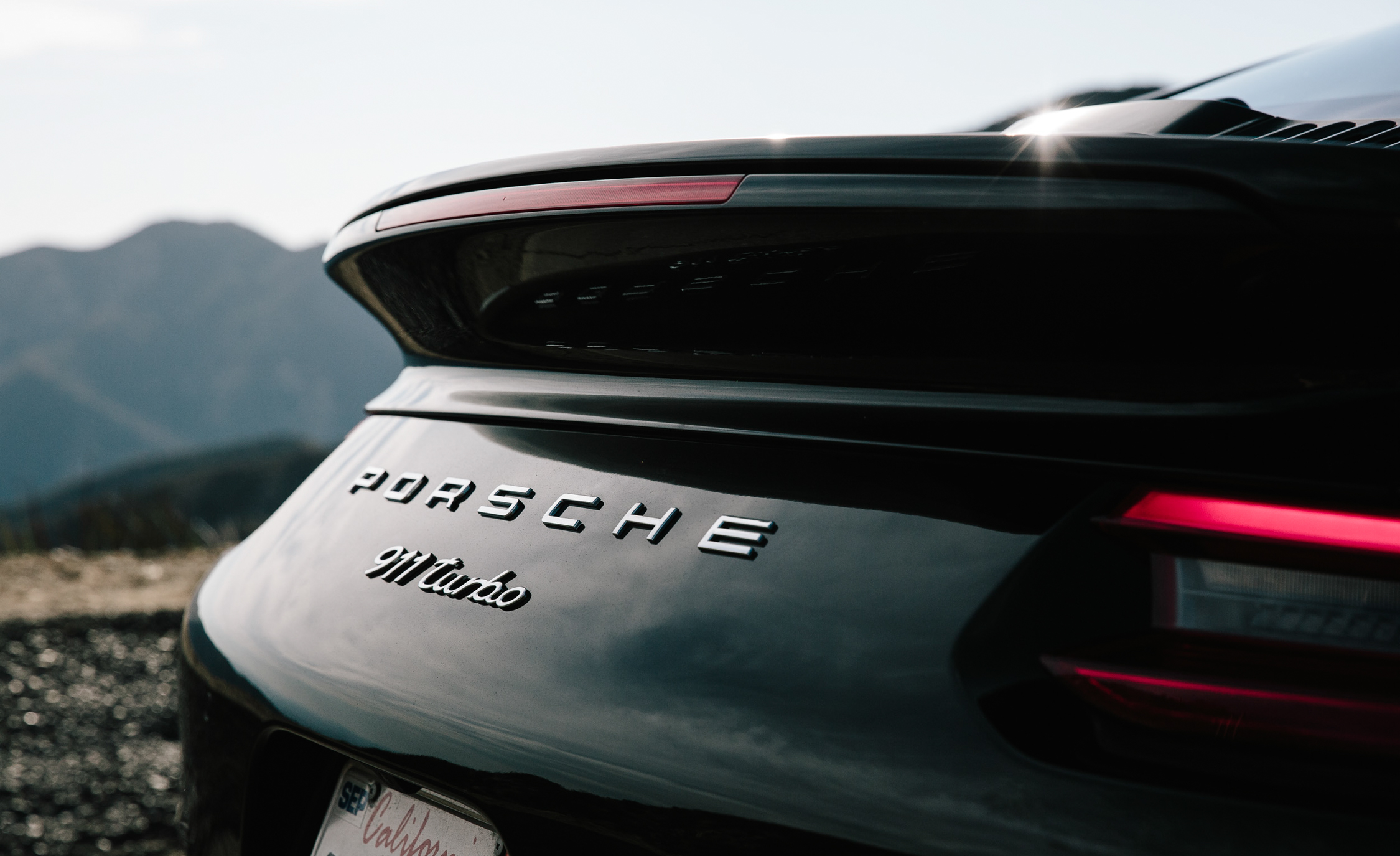 2017 Porsche 911 Turbo Exterior View Rear Badge (Photo 10 of 58)