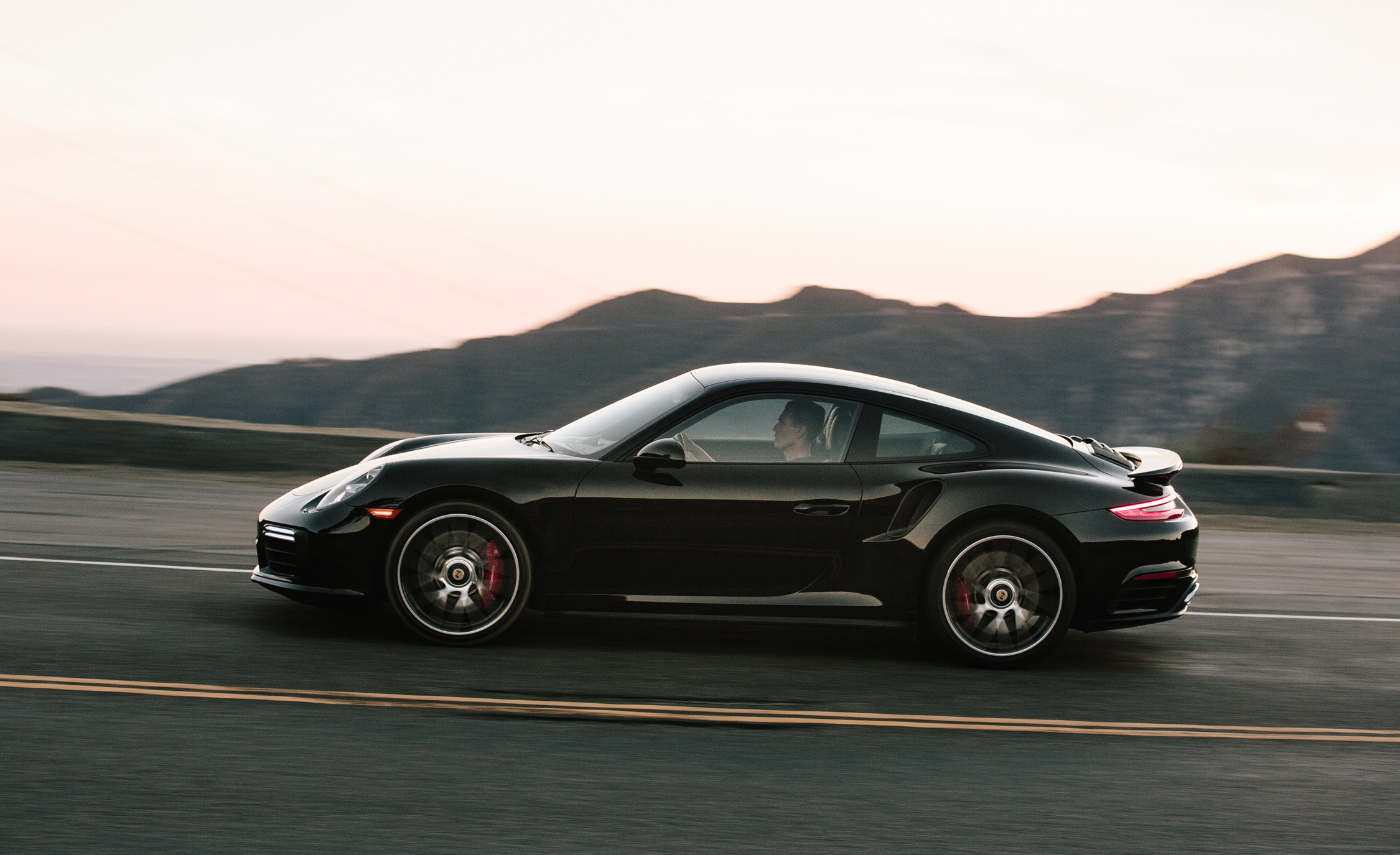 2017 Porsche 911 Turbo Test Drive Side (Photo 43 of 58)