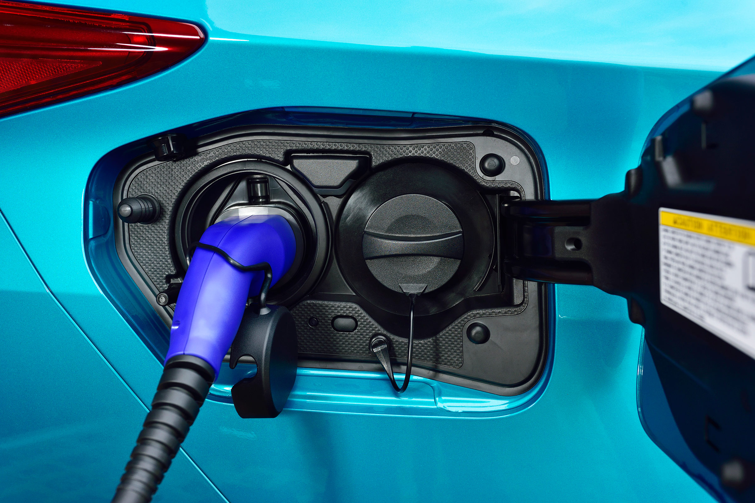 2017 Toyota Prius Blue Exterior View Charger Port (Photo 2 of 64)