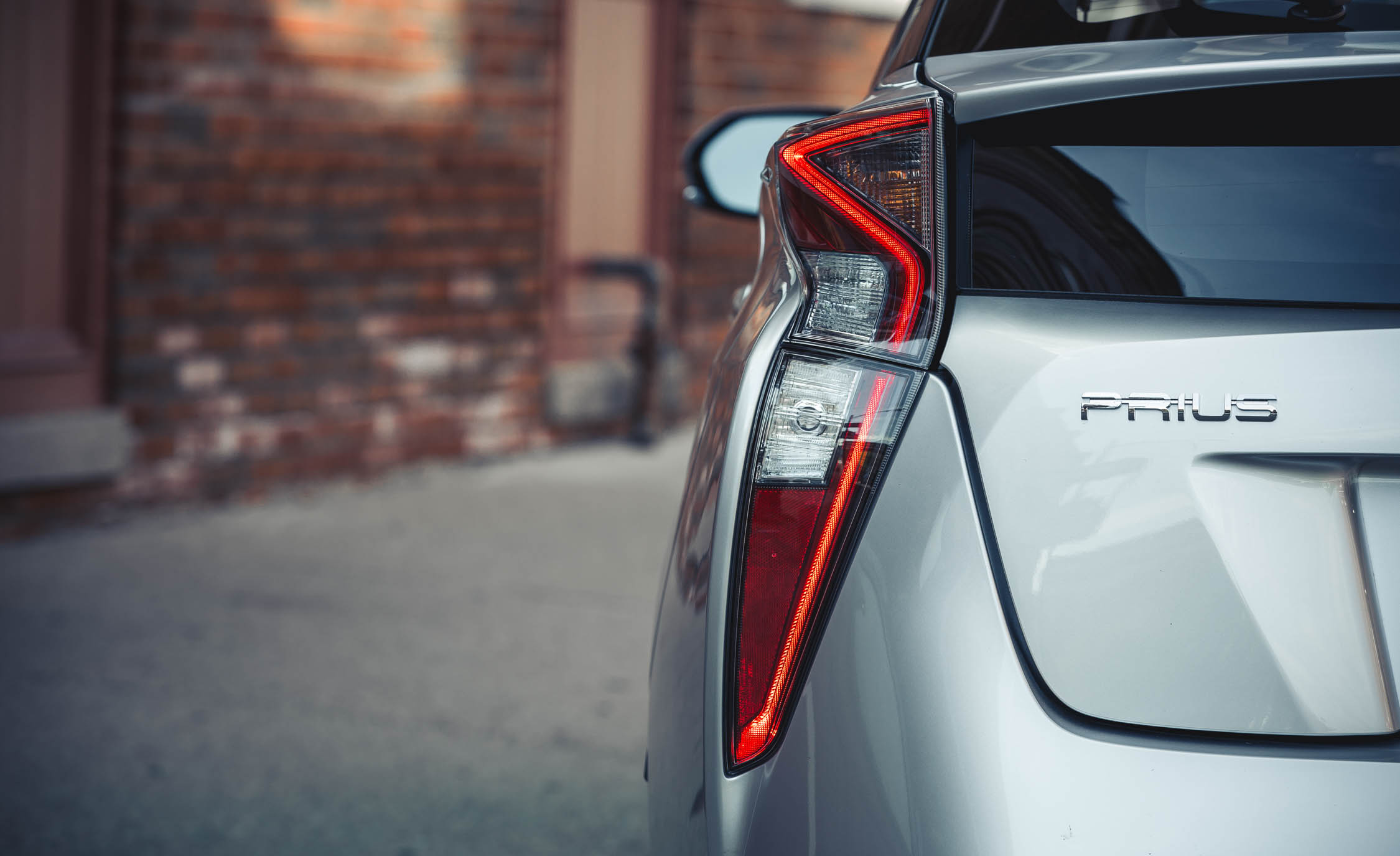 2017 Toyota Prius Exterior View Taillight (Photo 38 of 64)