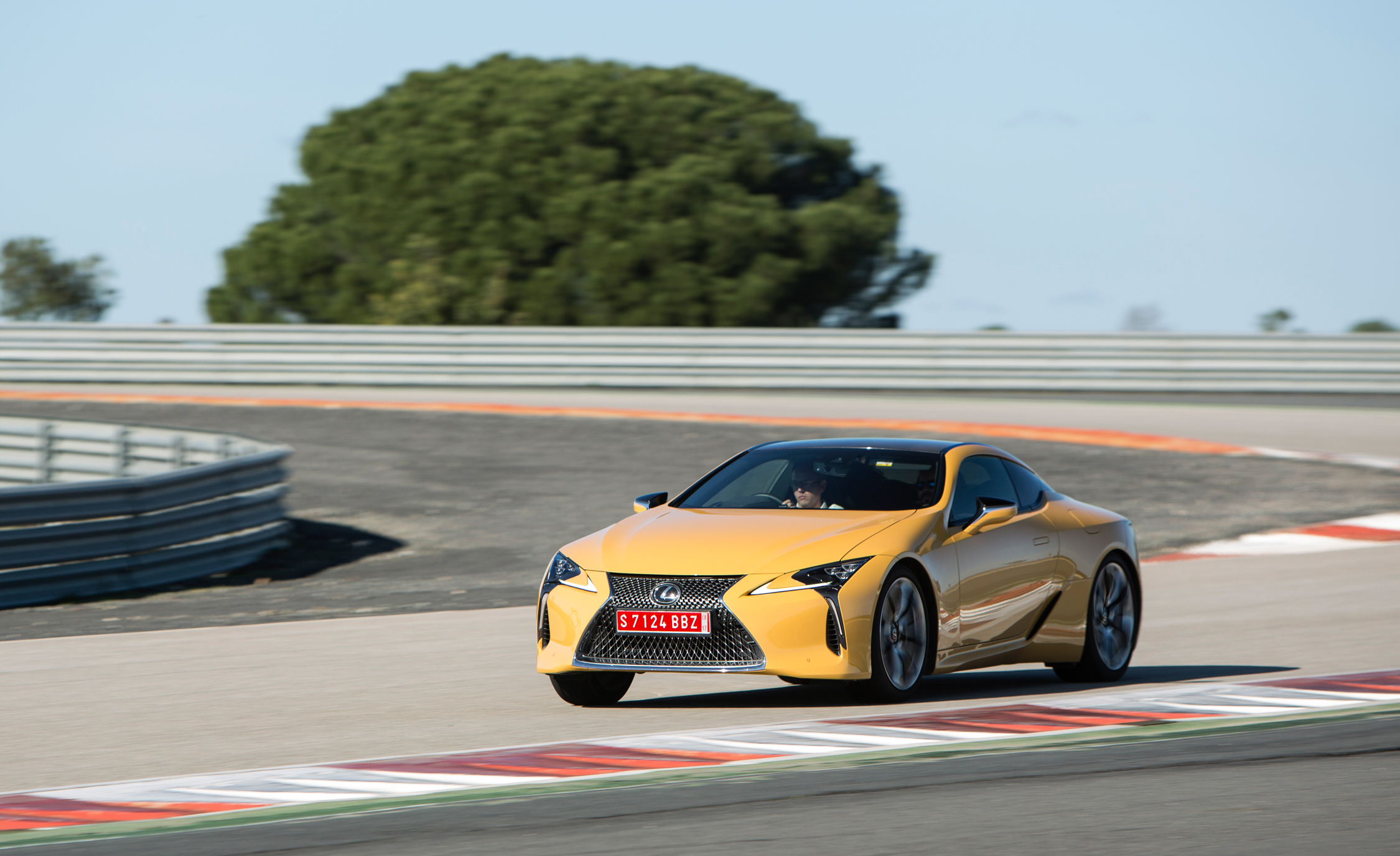 2018 Lexus Lc 500 Performance Front And Side View (Photo 15 of 84)