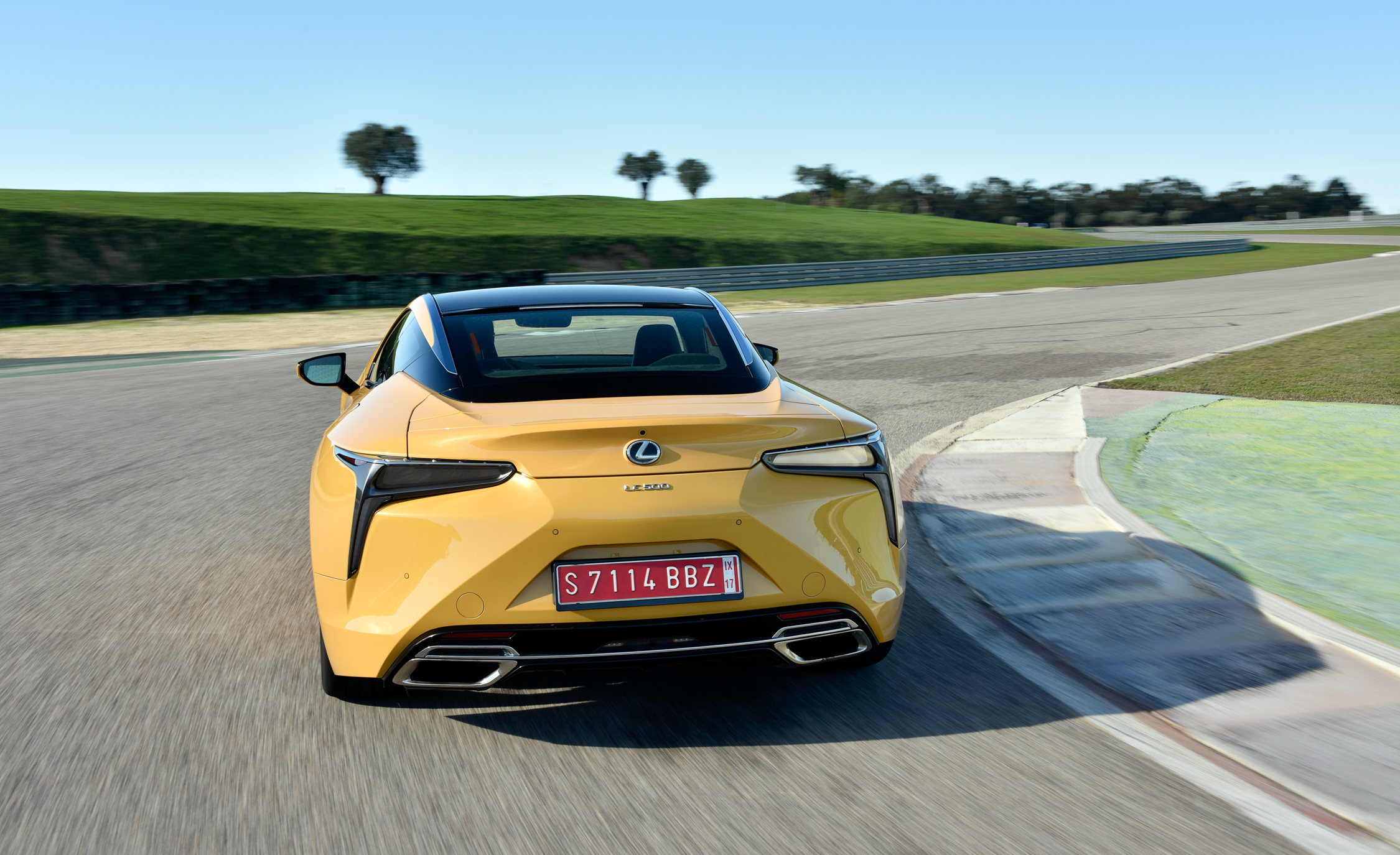 2018 Lexus Lc 500 Performance Rear View (View 25 of 84)