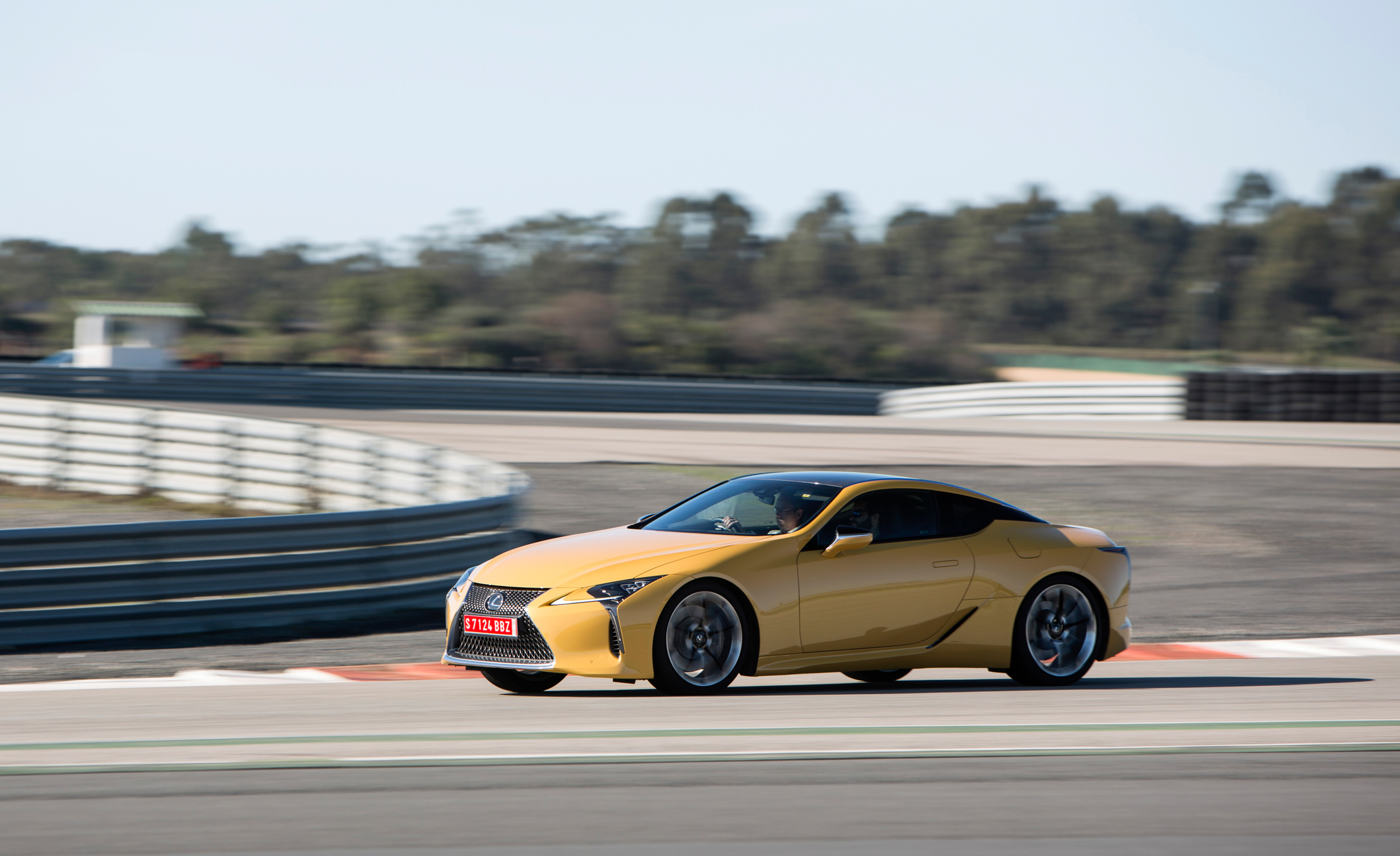 2018 Lexus Lc 500 Performance Side And Front View (Photo 22 of 84)