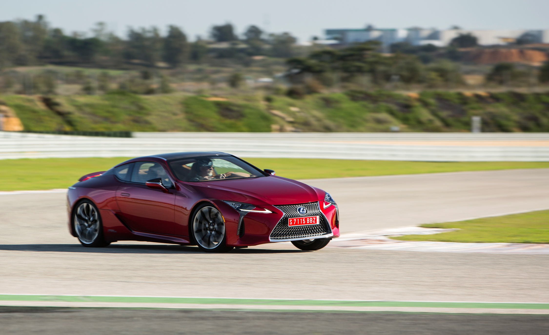 2018 Lexus Lc 500 Red Test Drive (Photo 22 of 84)