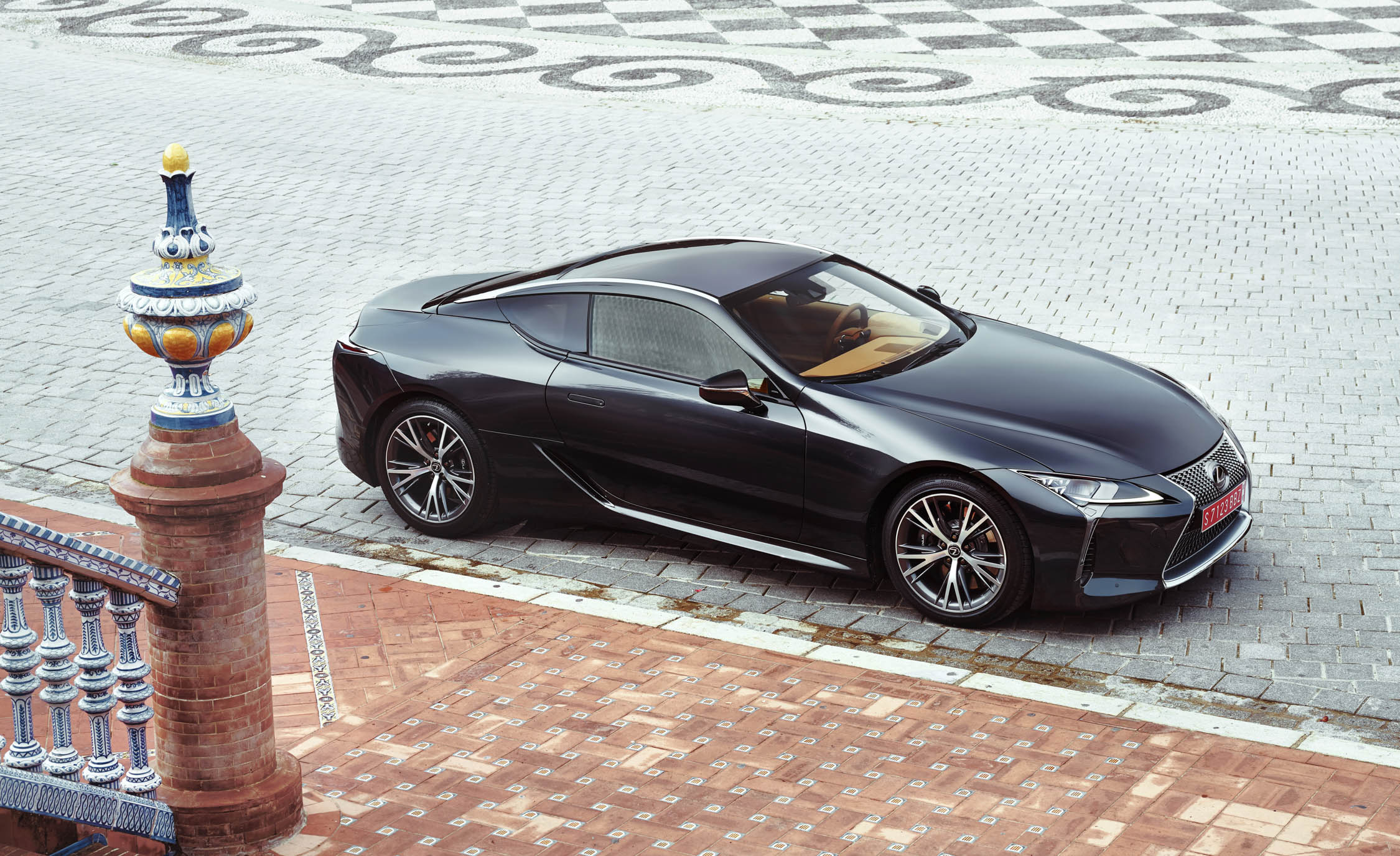 2018 Lexus Lc 500 Black Exterior (Photo 3 of 84)