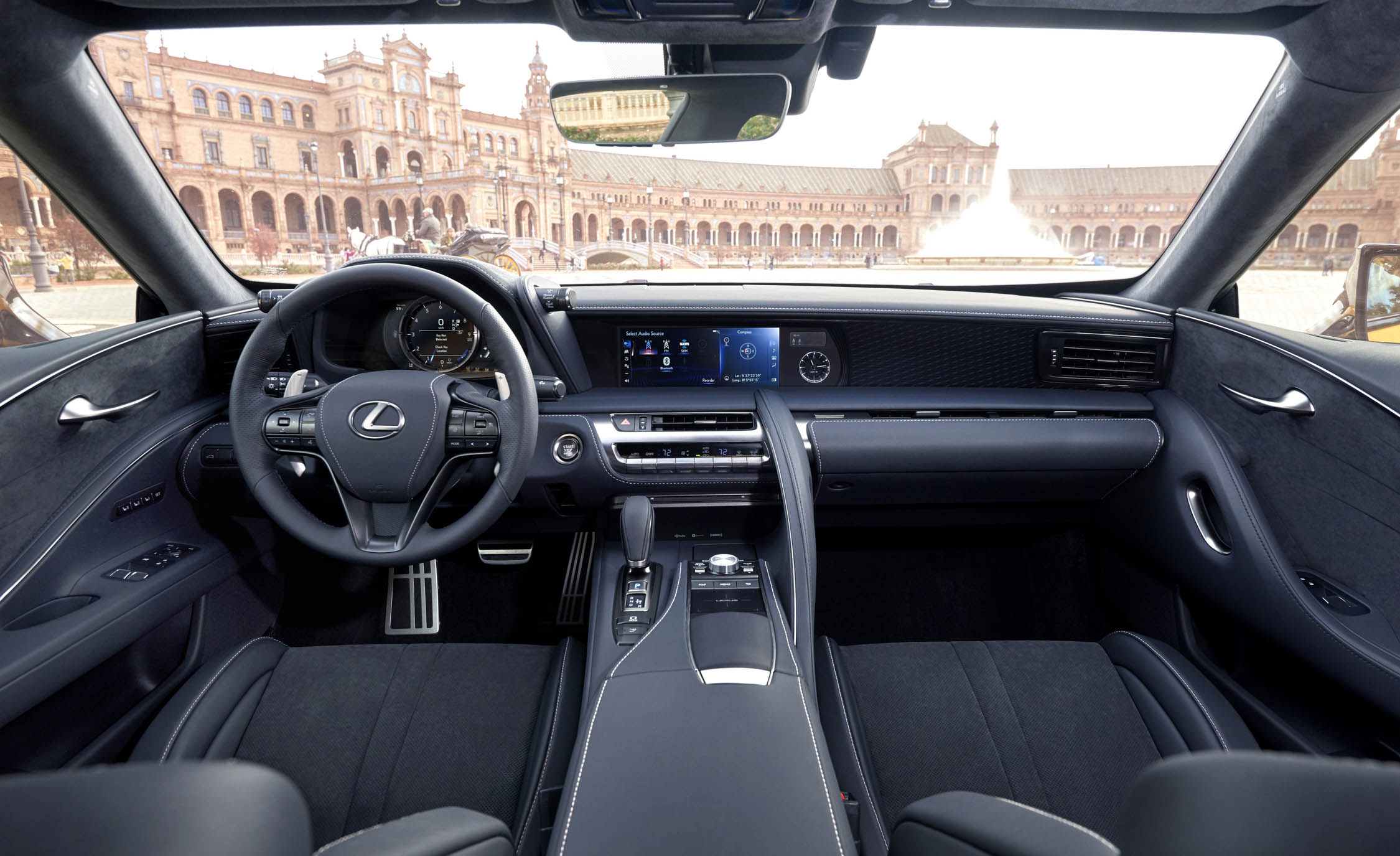 2018 Lexus Lc 500 Black Interior (Photo 8 of 84)