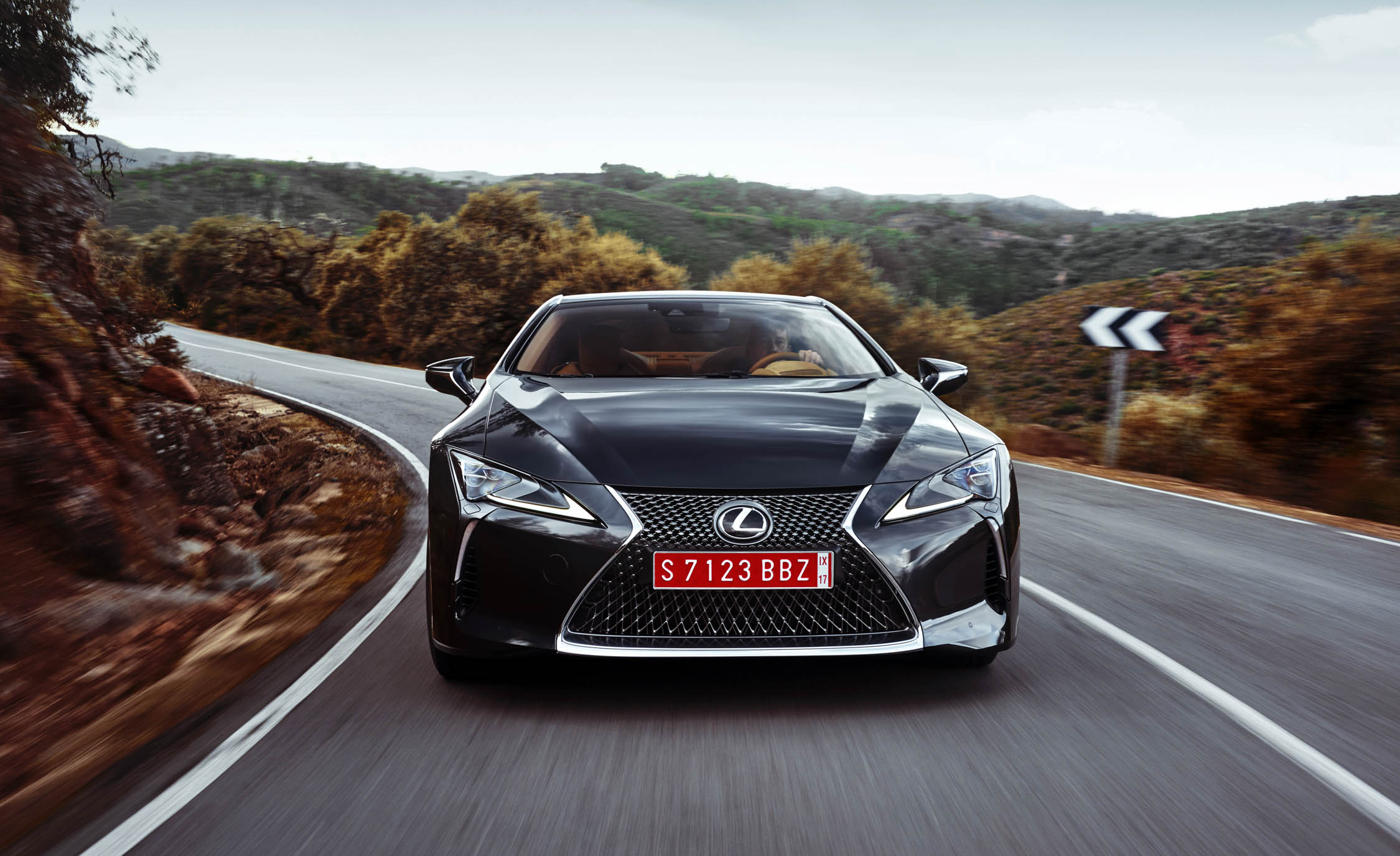 2018 Lexus Lc 500 Black Test Drive Front (Photo 10 of 84)