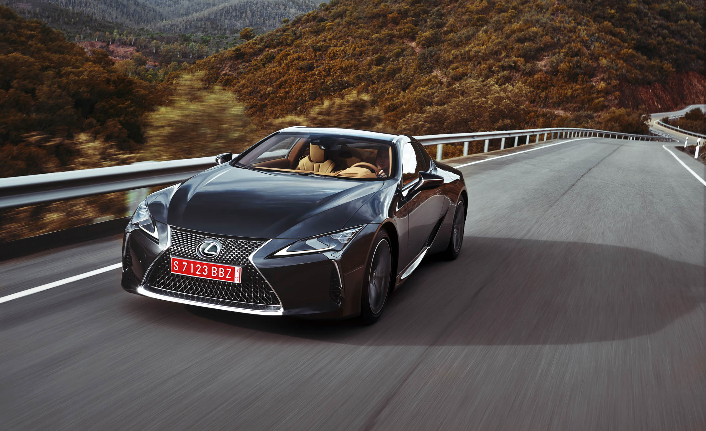 2018 Lexus Lc 500 Black Test Drive (Photo 9 of 84)