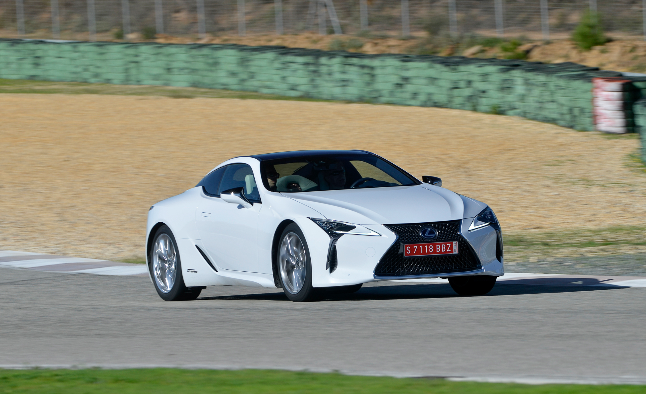 2018 Lexus Lc 500h White Test Drive (View 26 of 84)
