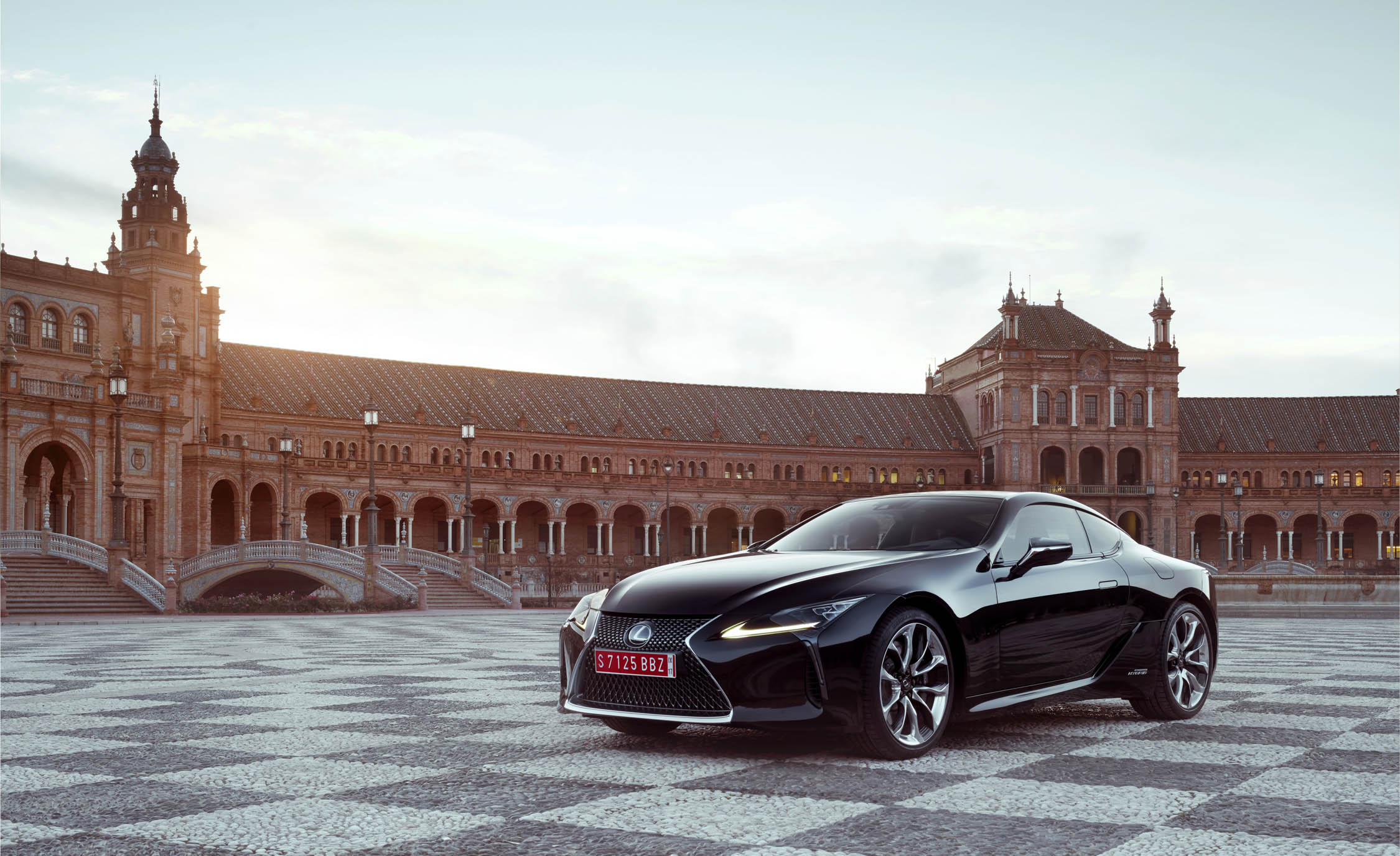 2018 Lexus Lc 500h Black Exterior Front And Side (Photo 54 of 84)