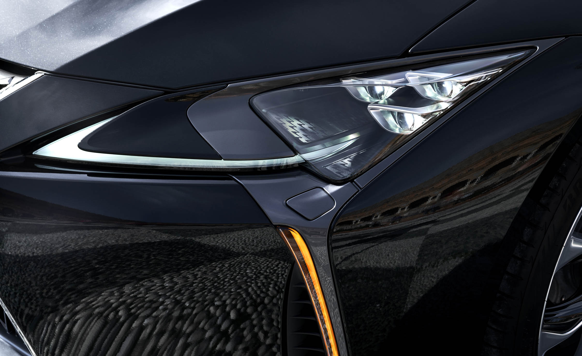 2018 Lexus Lc 500h Exterior View Headlight (Photo 51 of 84)