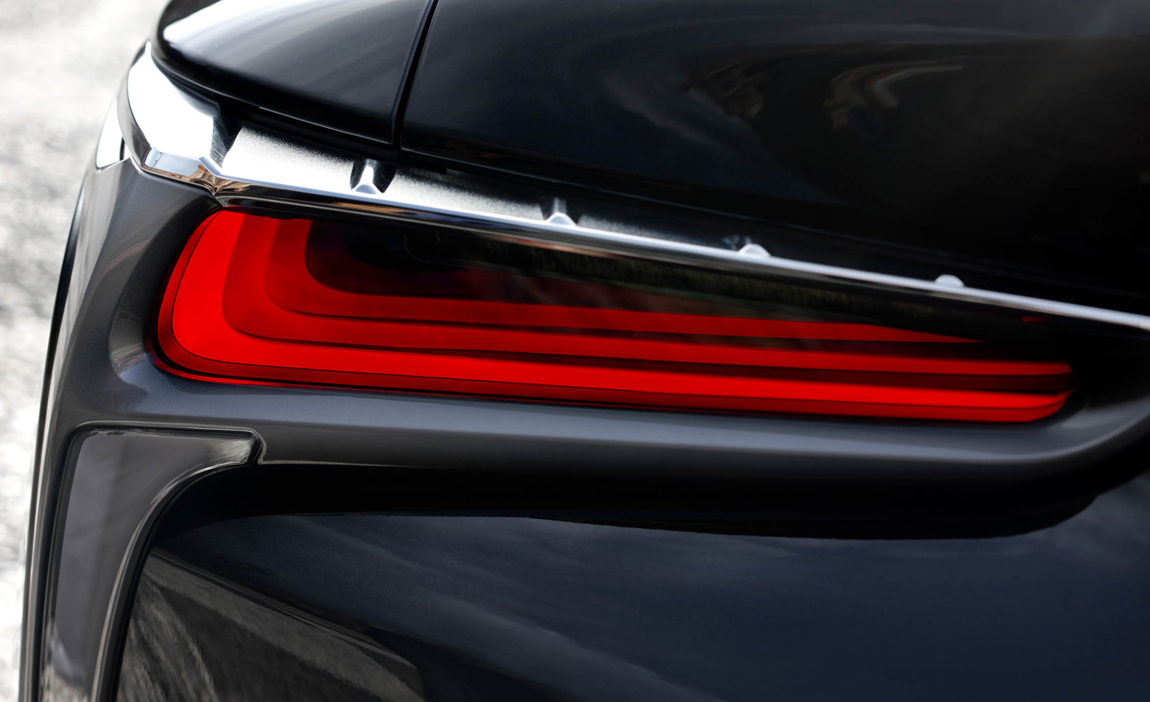2018 Lexus Lc 500h Exterior View Taillight (Photo 52 of 84)