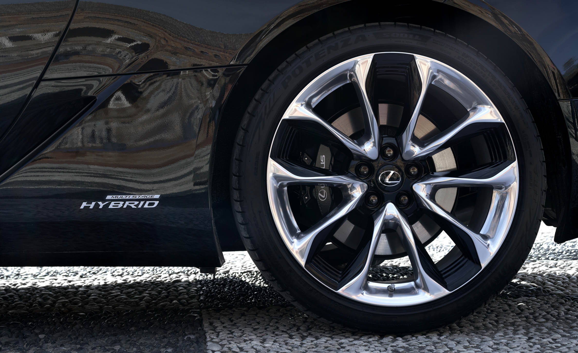 2018 Lexus Lc 500h Exterior View Wheel Trim (Photo 33 of 84)