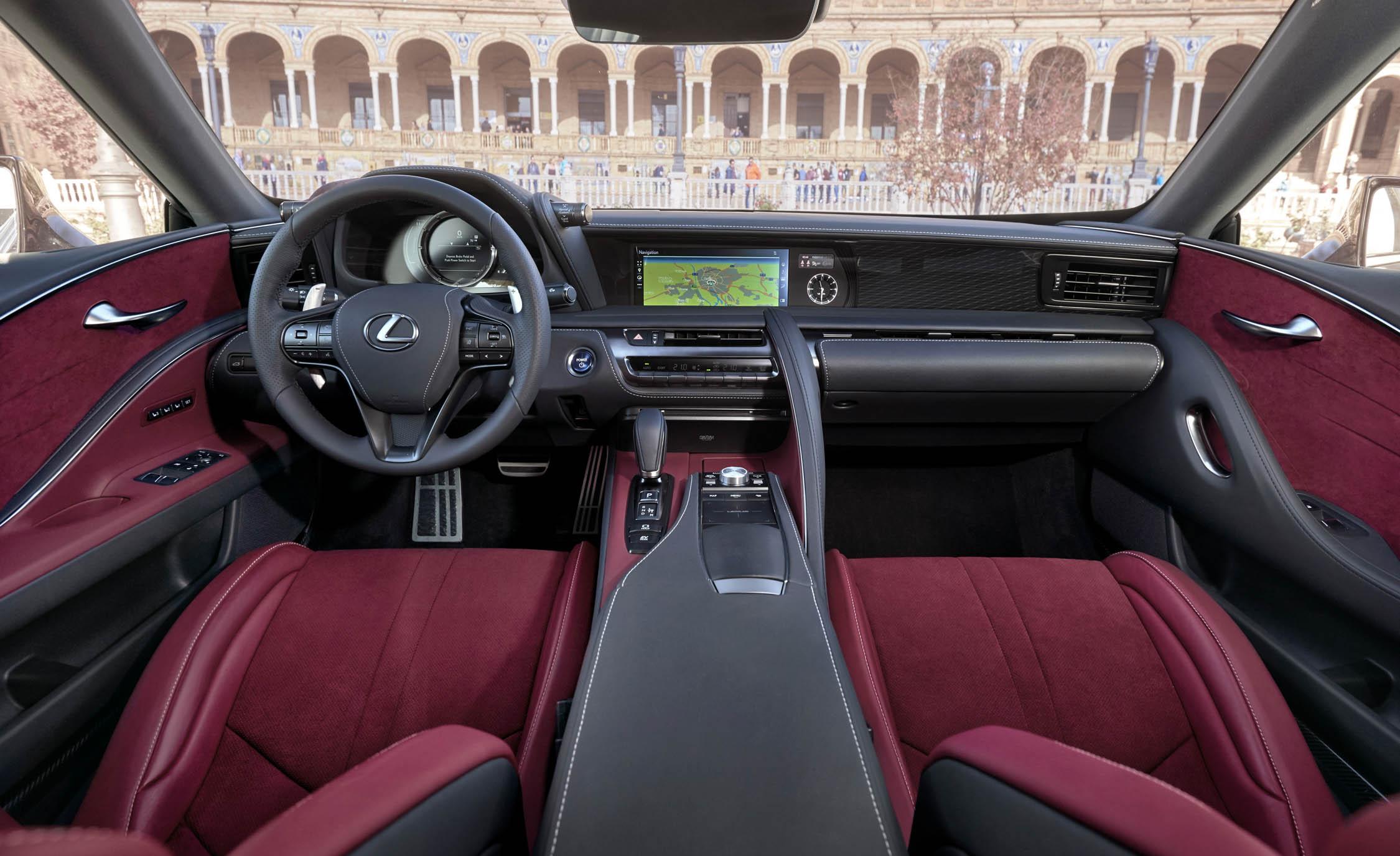 2018 Lexus Lc 500h Interior Dashboard (Photo 37 of 84)