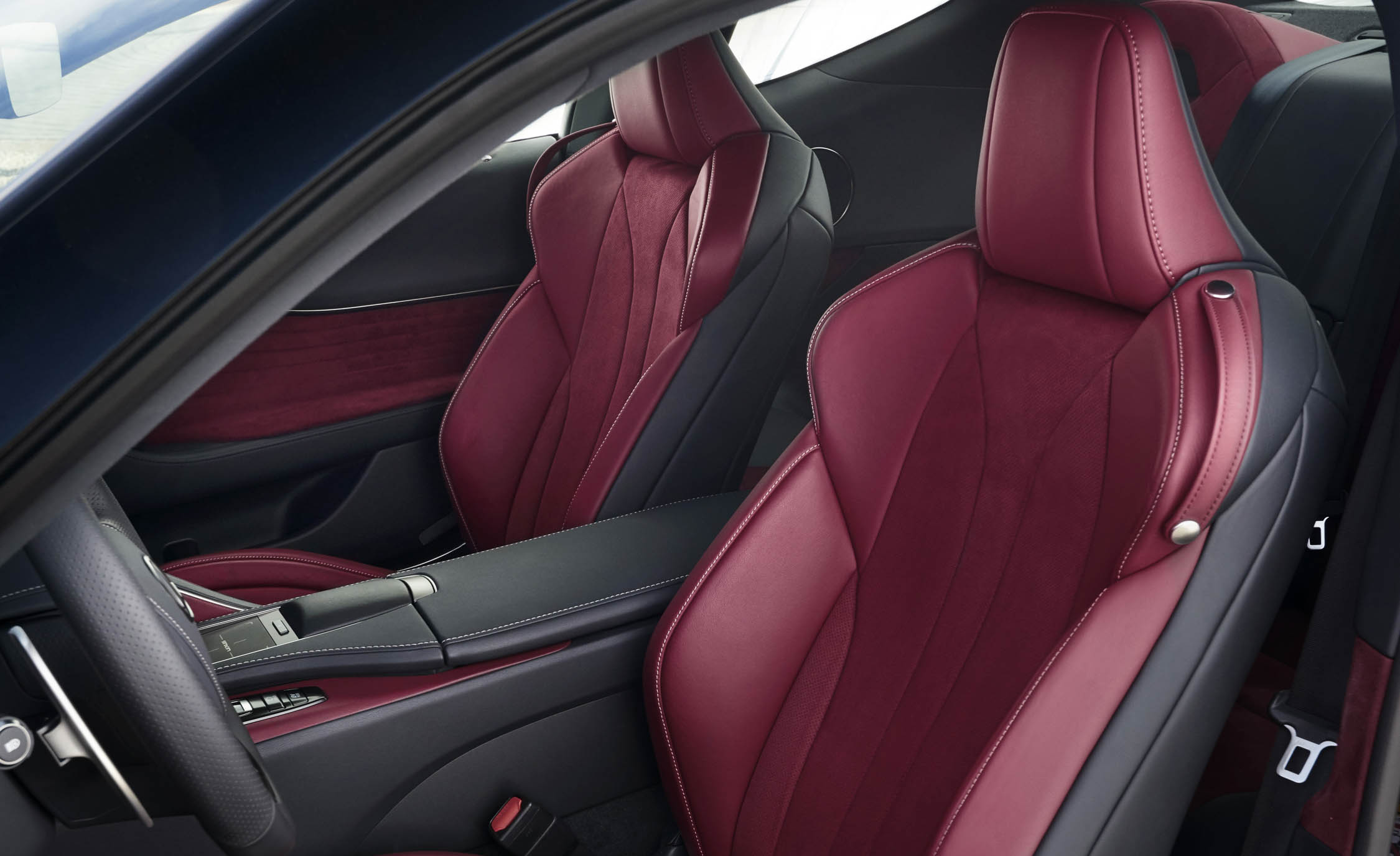2018 Lexus Lc 500h Interior Seats Front (View 34 of 84)