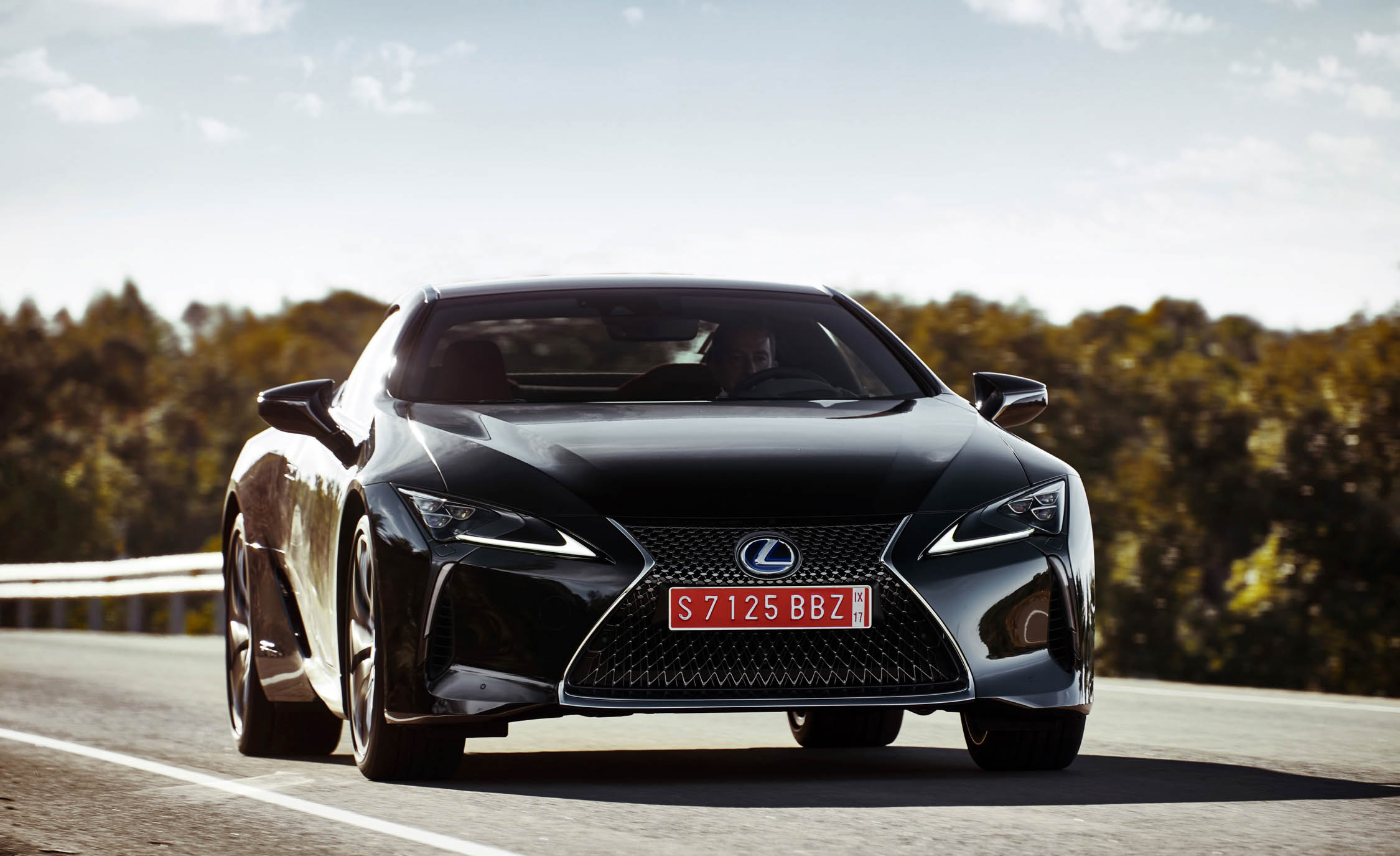 2018 Lexus Lc 500h Test Drive Front End (Photo 60 of 84)