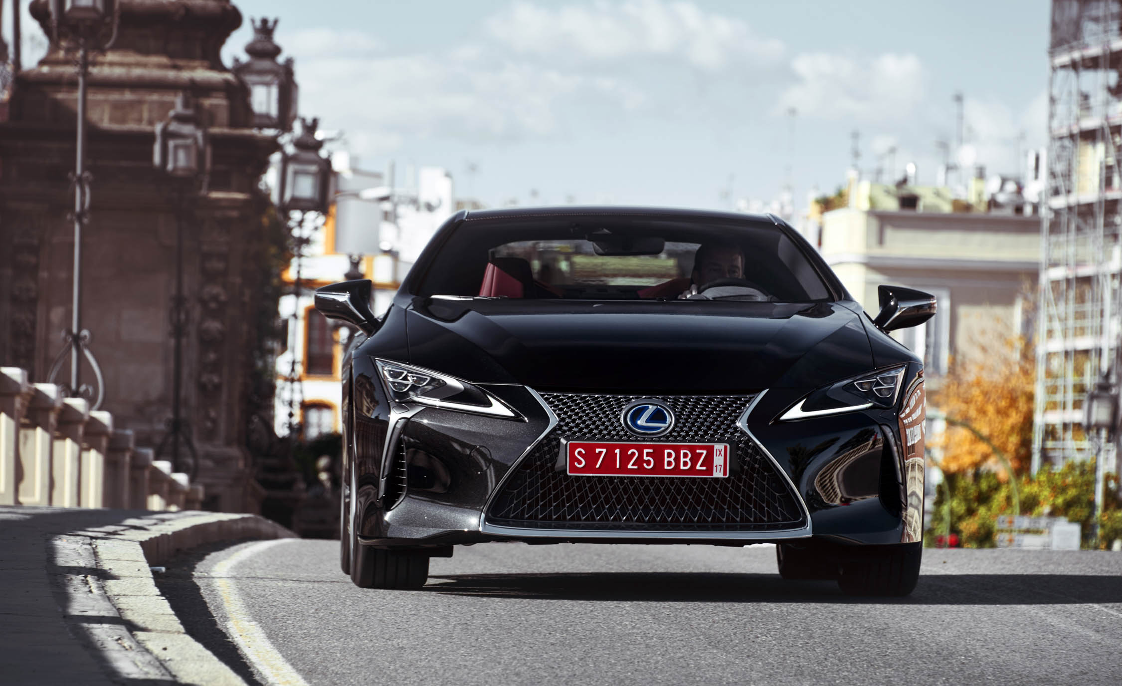 2018 Lexus Lc 500h Test Drive Front View (Photo 62 of 84)