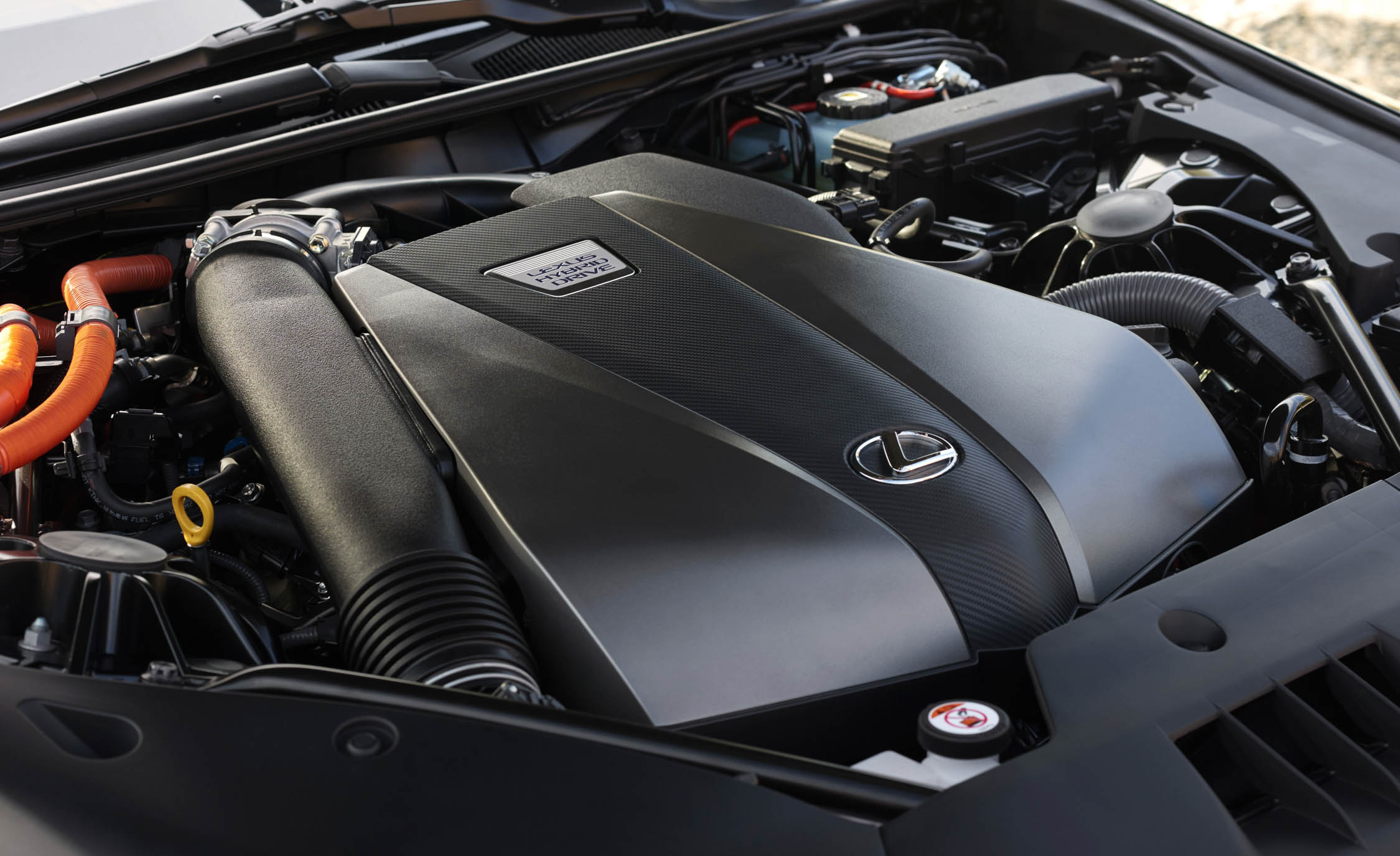 2018 Lexus Lc 500h View Engine (Photo 63 of 84)
