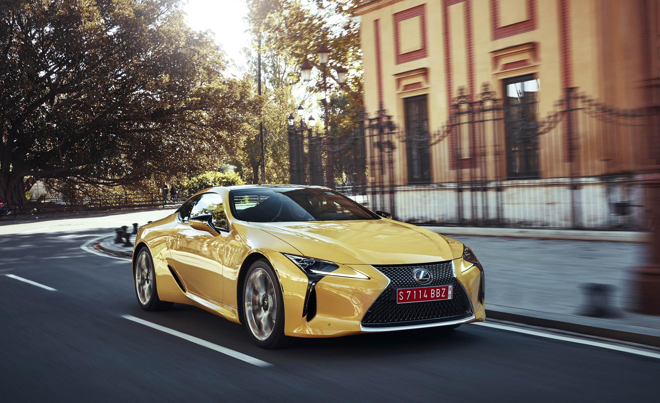 2018 Lexus Lc500 Yellow (Photo 70 of 84)
