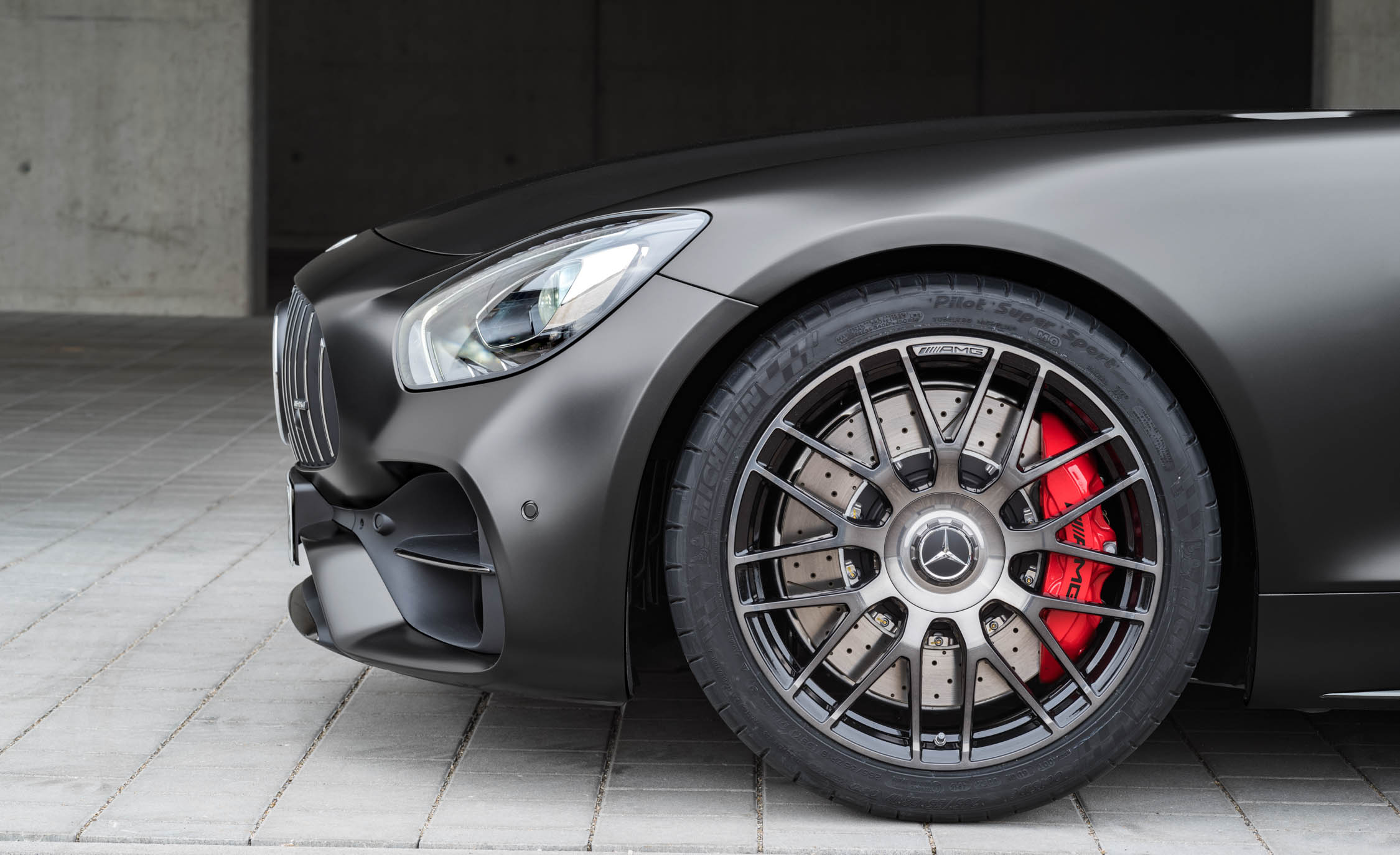 2018 Mercedes Amg Gt C Exterior View Wheel Trim (View 20 of 23)