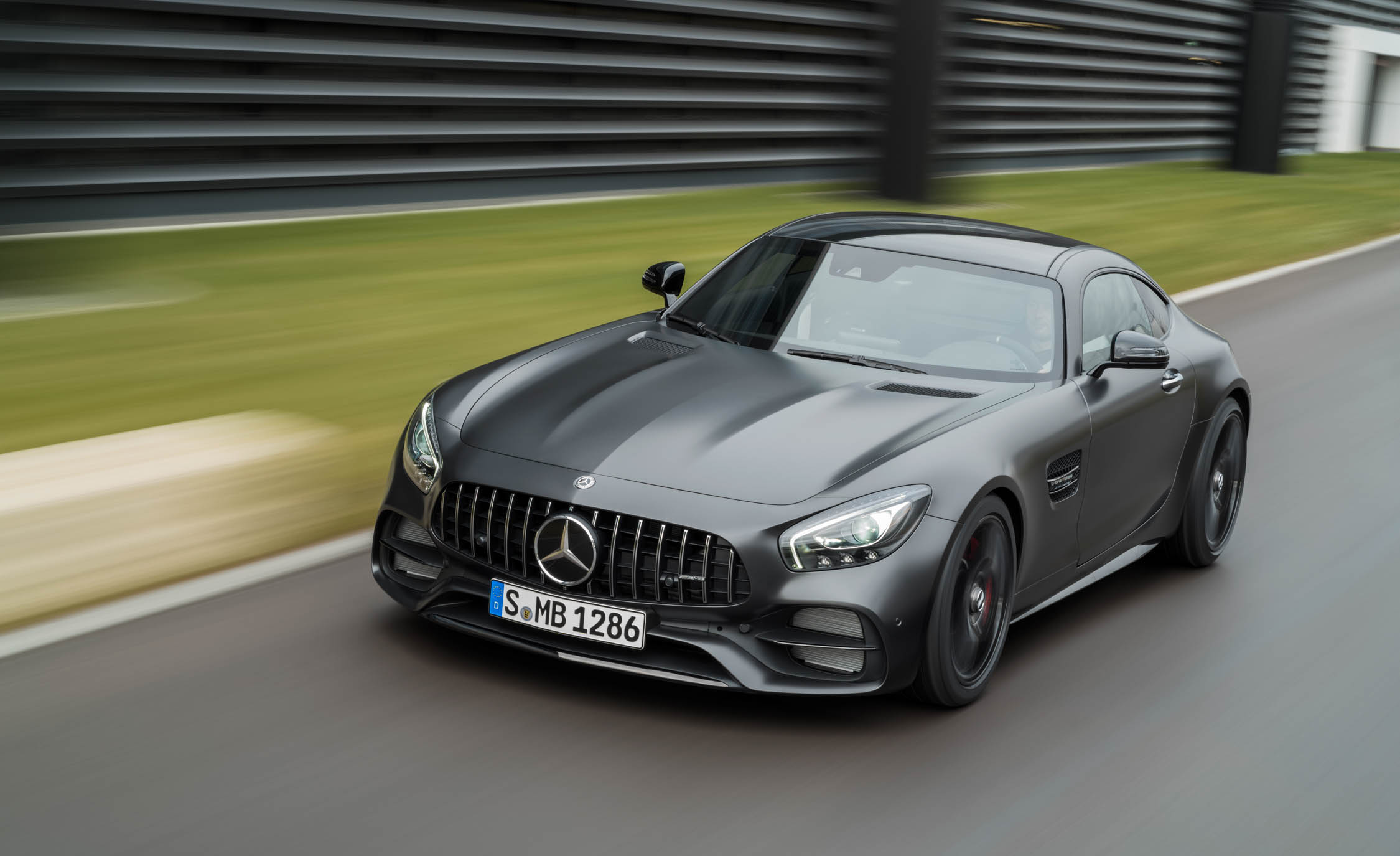 2018 Mercedes Amg Gt Coupe (View 8 of 23)