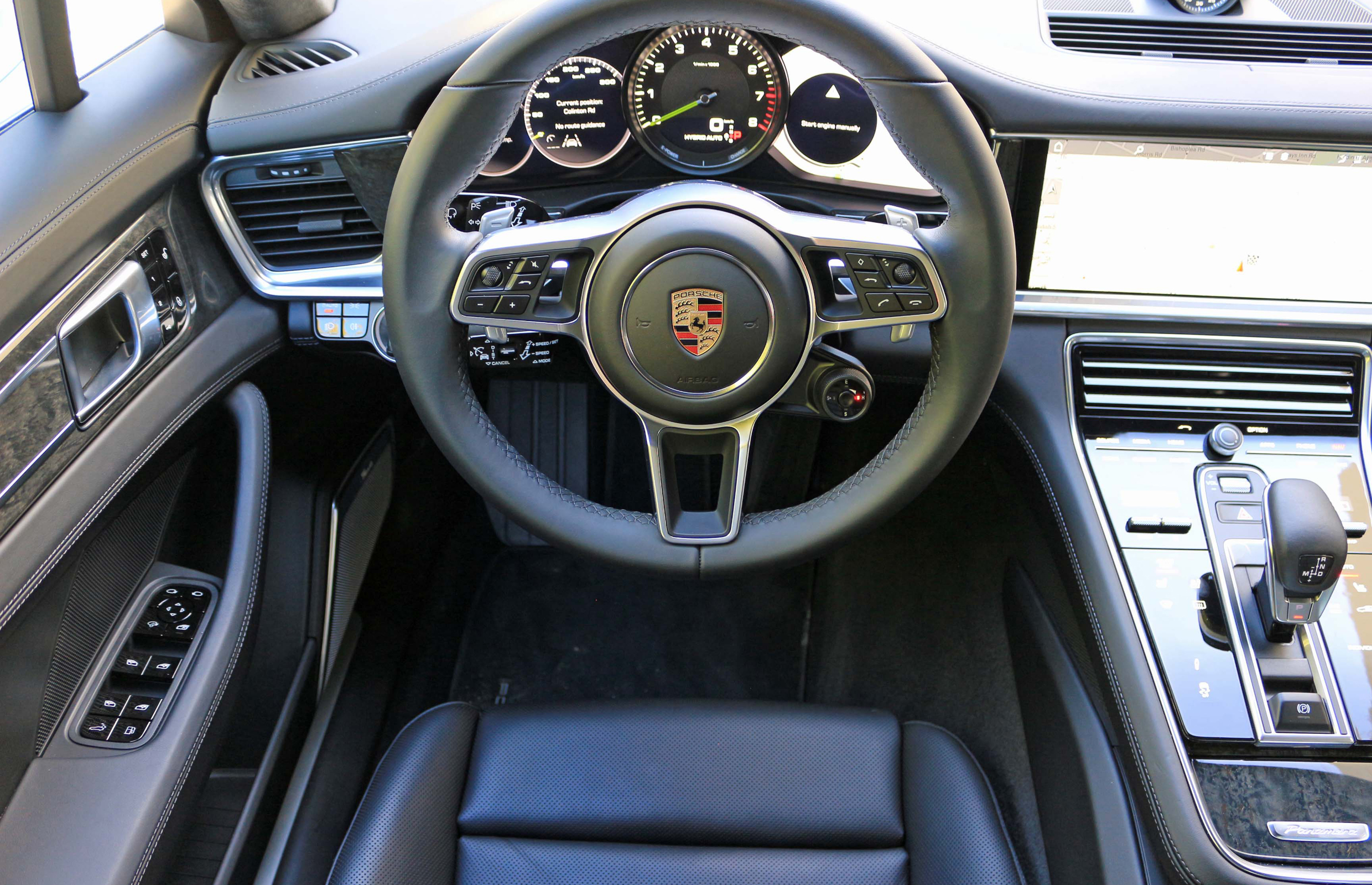 2018 Porsche Panamera 4 E Hybrid Interior Cockpit (Photo 8 of 10)