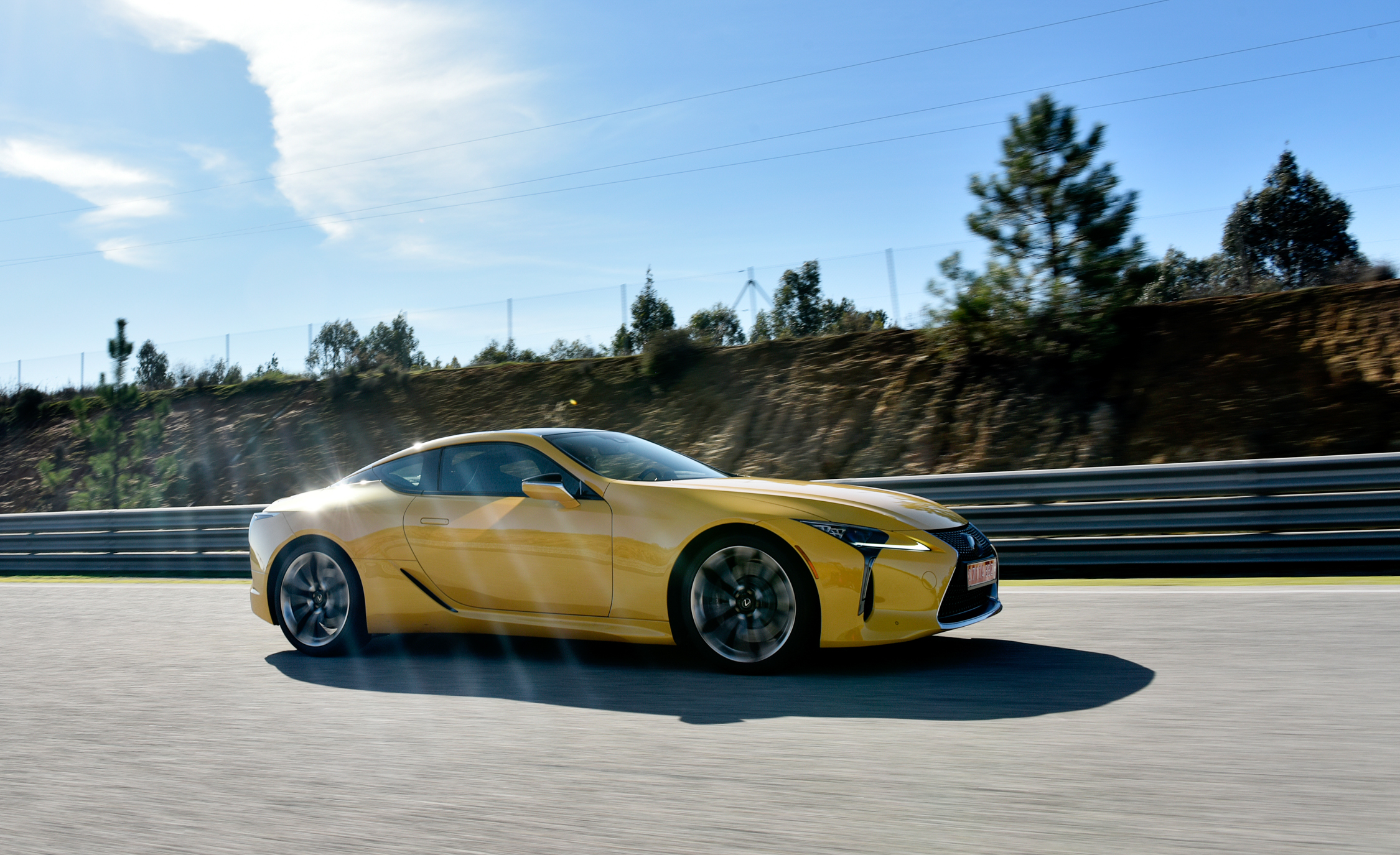 New 2018 Lexus Lc 500 Yellow (Photo 76 of 84)