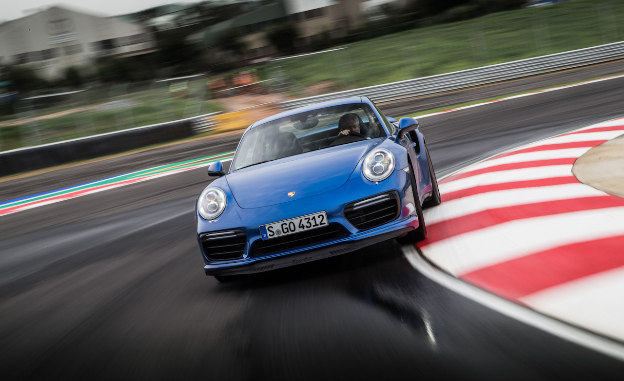 Porsche 911 Turbo Test Drive Front Corner (Photo 54 of 58)