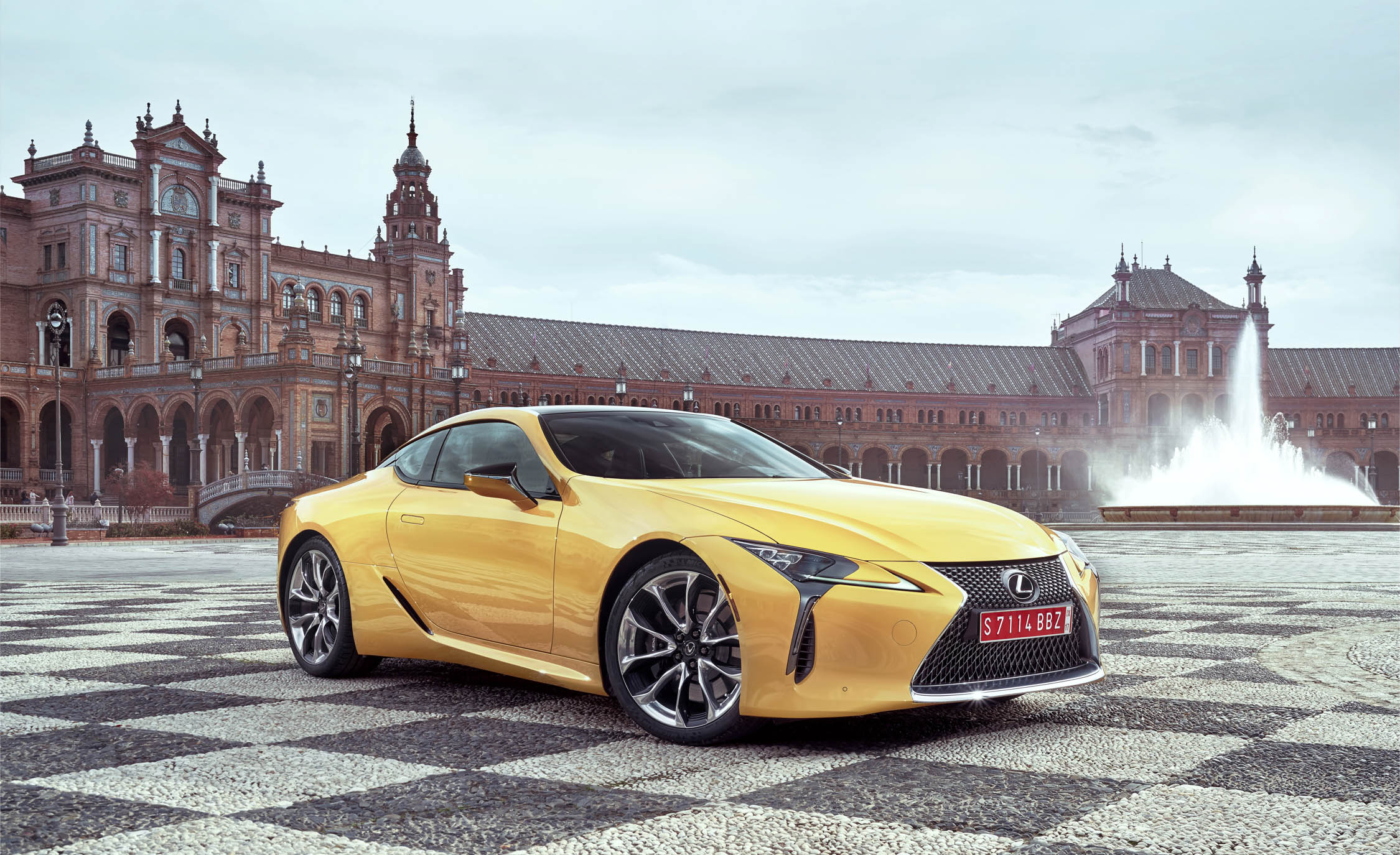 New 2018 Lexus Lc500 Exterior Front And Side (View 81 of 84)