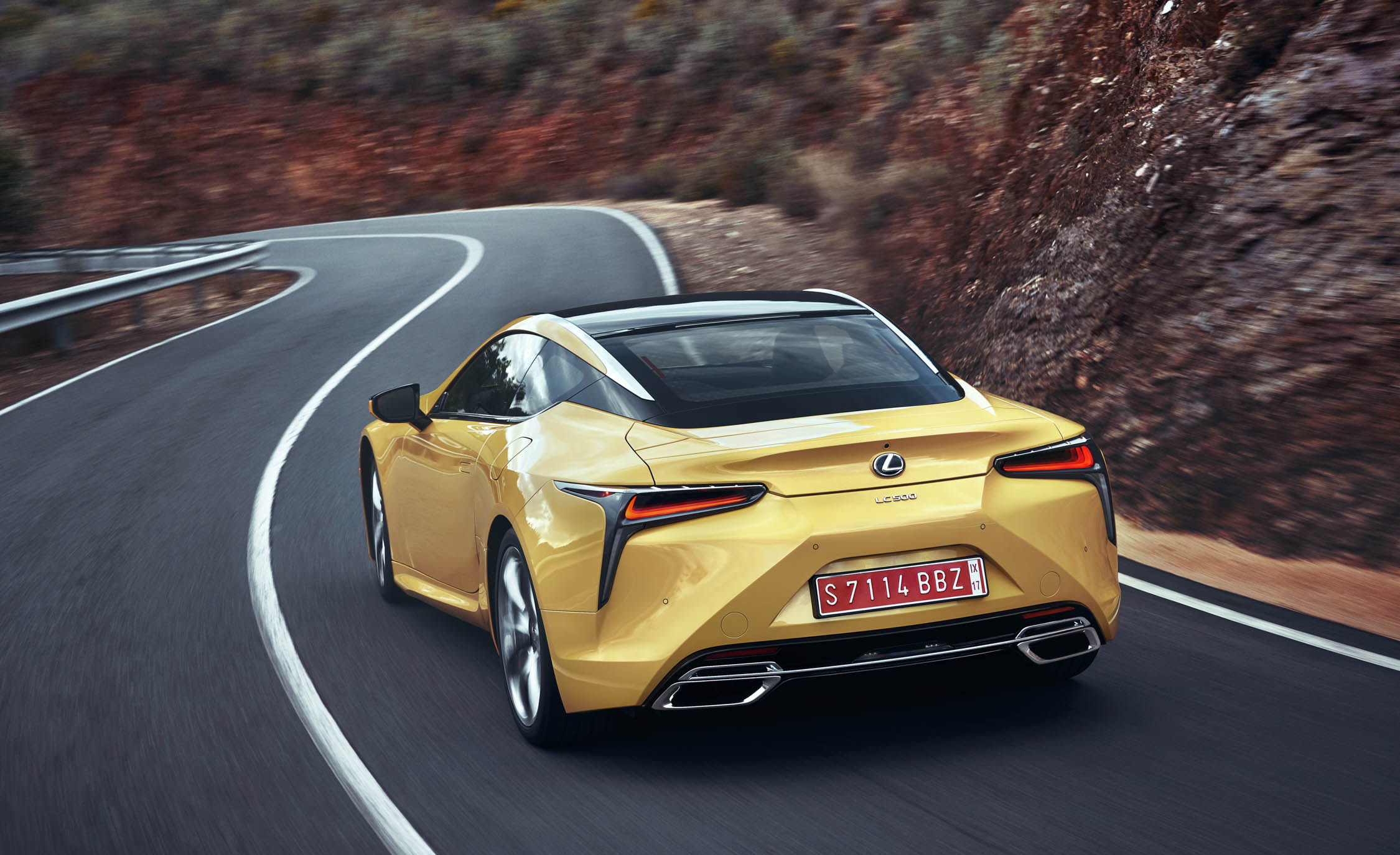 New 2018 Lexus Lc500 Rear View (View 79 of 84)