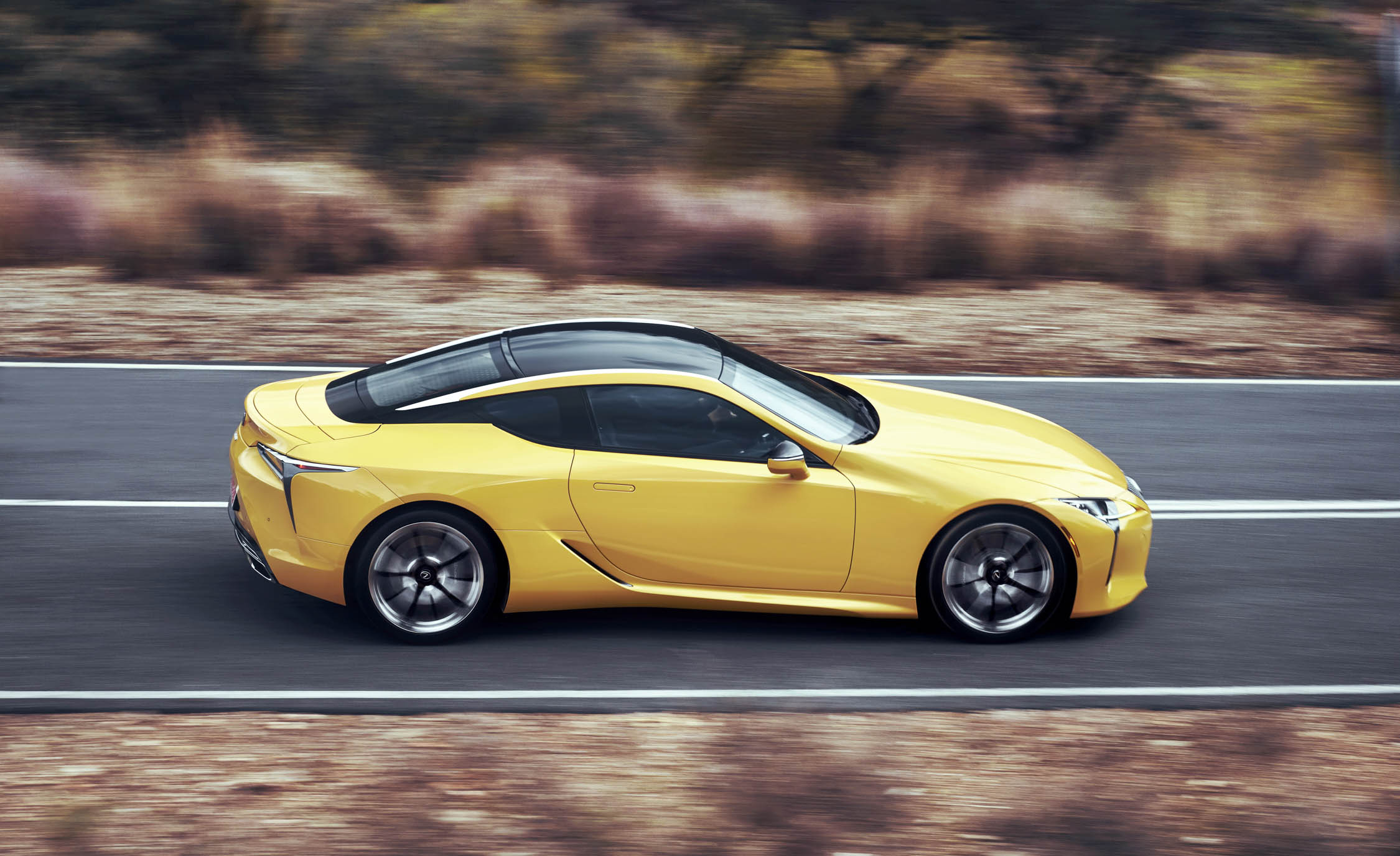 New 2018 Lexus Lc500 Side View (Photo 83 of 84)