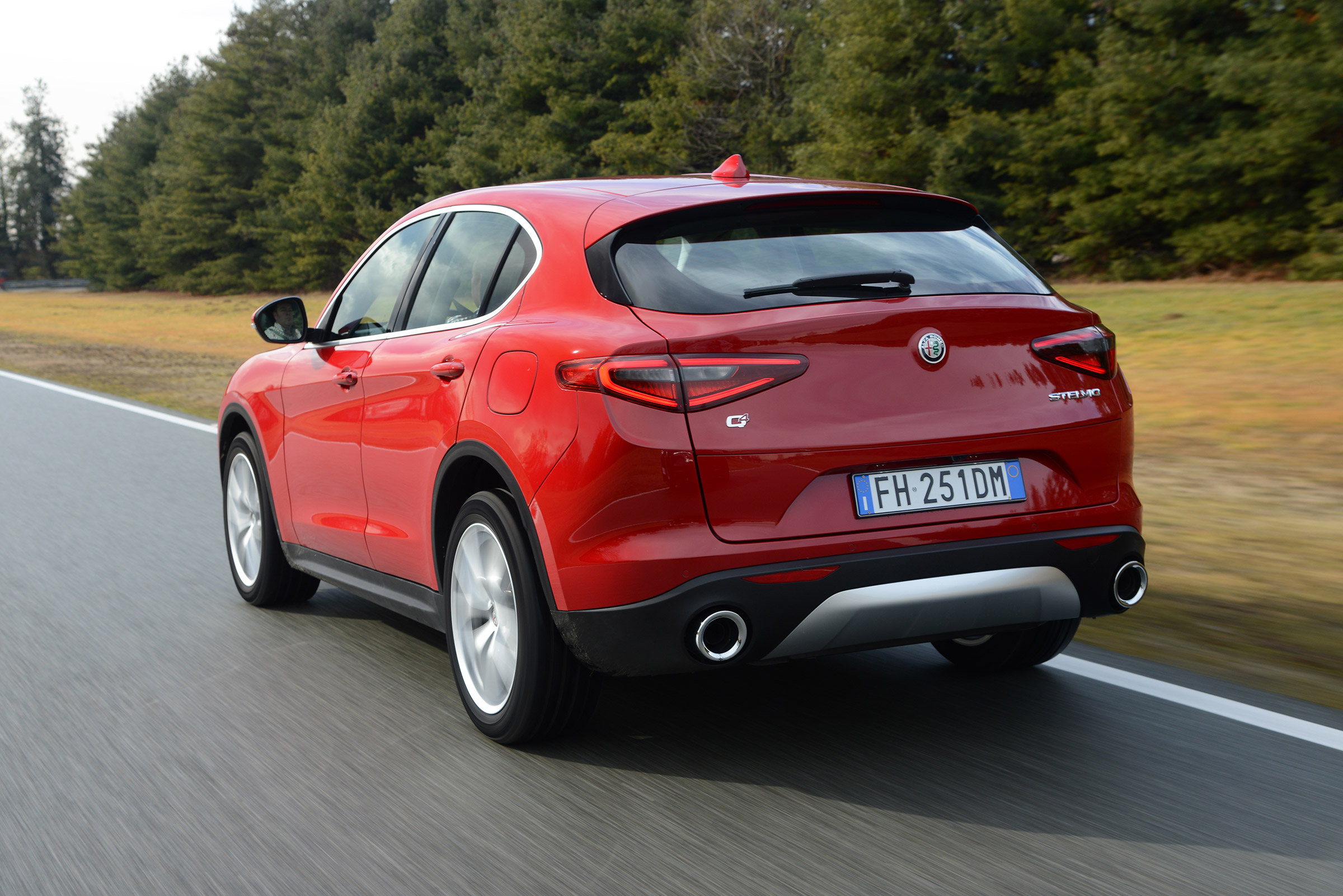 2017 Alfa Romeo Stelvio Test Drive Rear And Side View (Photo 21 of 23)