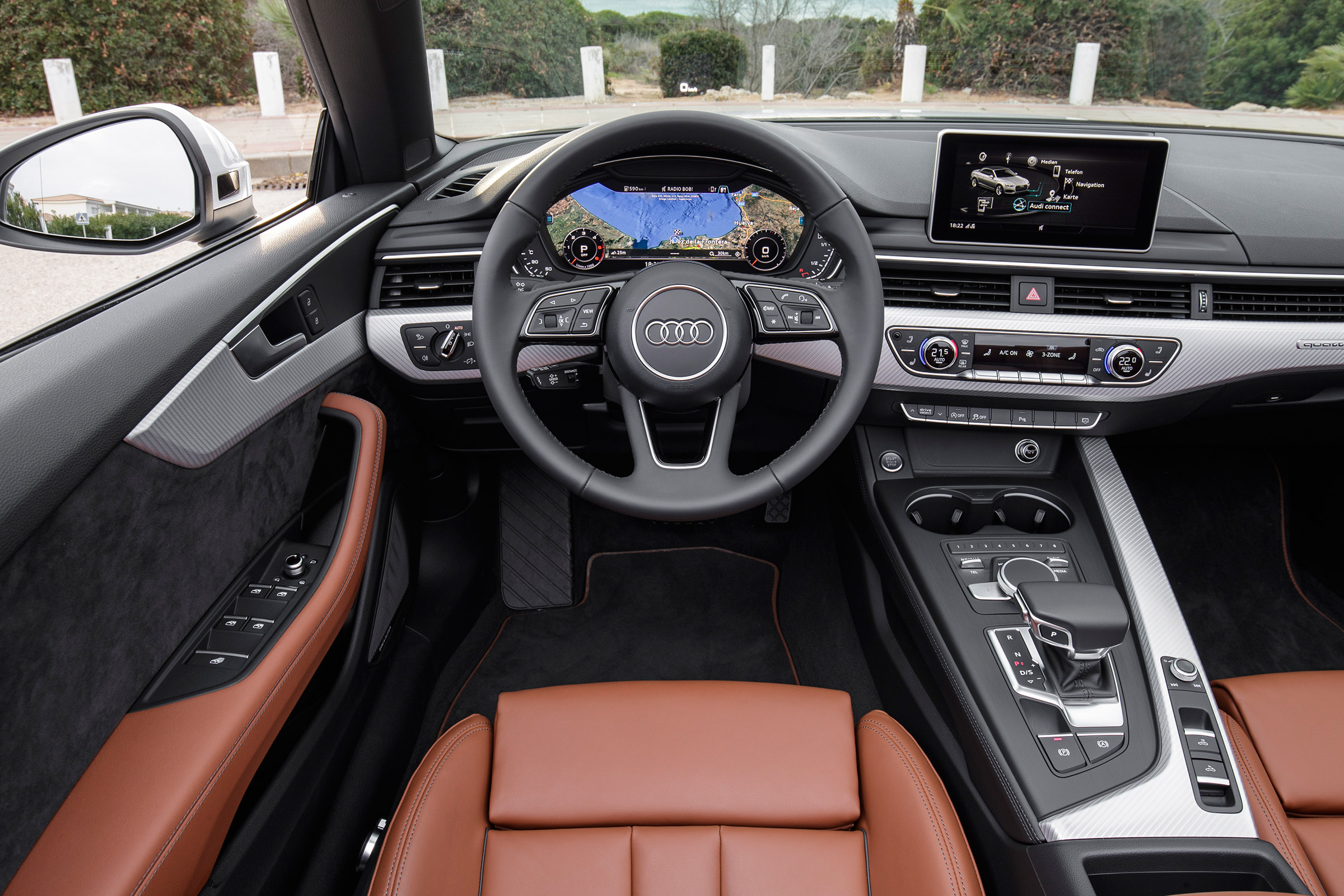 2017 Audi A5 Cabriolet Interior Cockpit And Dash (Photo 8 of 18)
